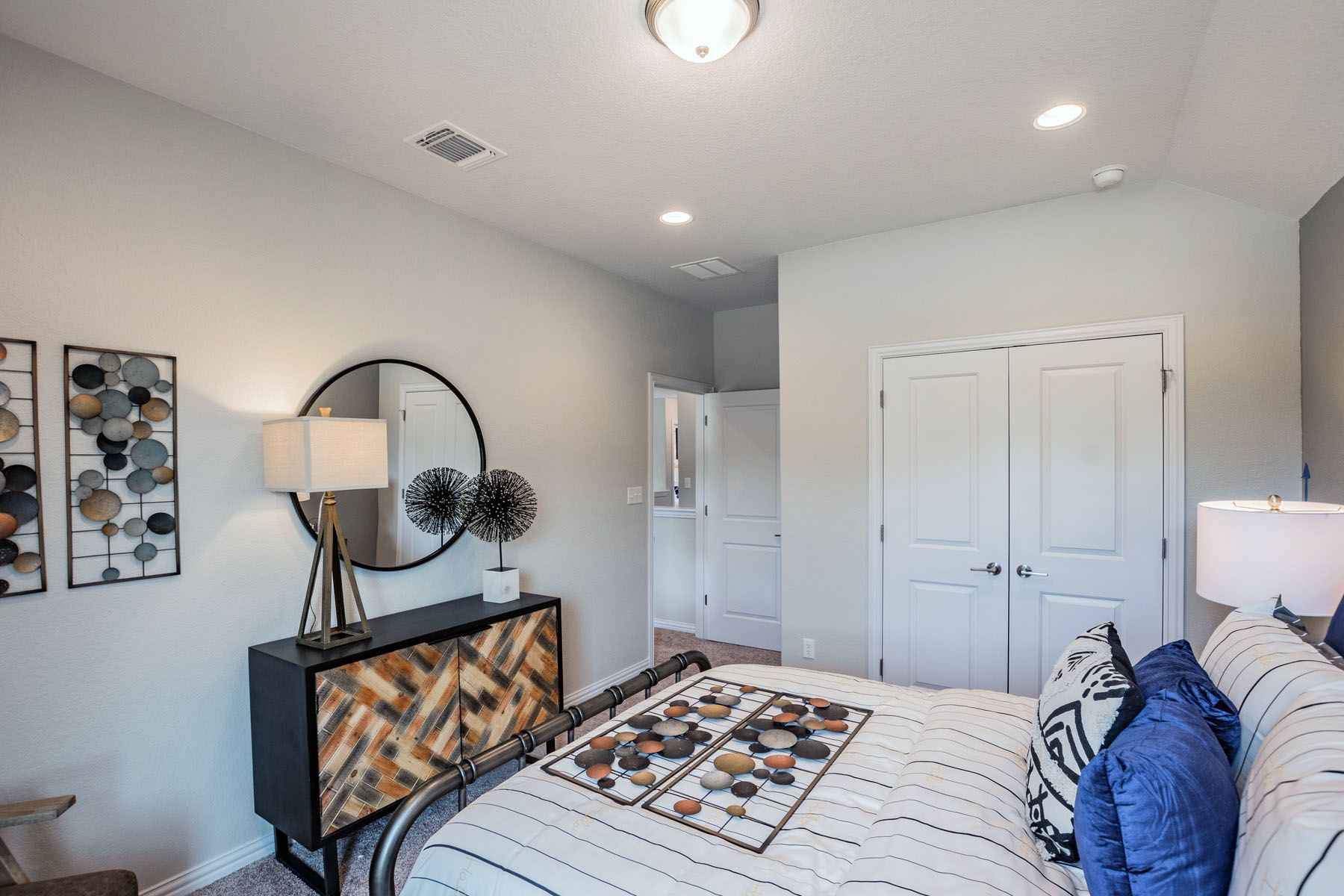 Bedroom featured in the Trinity By M/I Homes in Austin, TX
