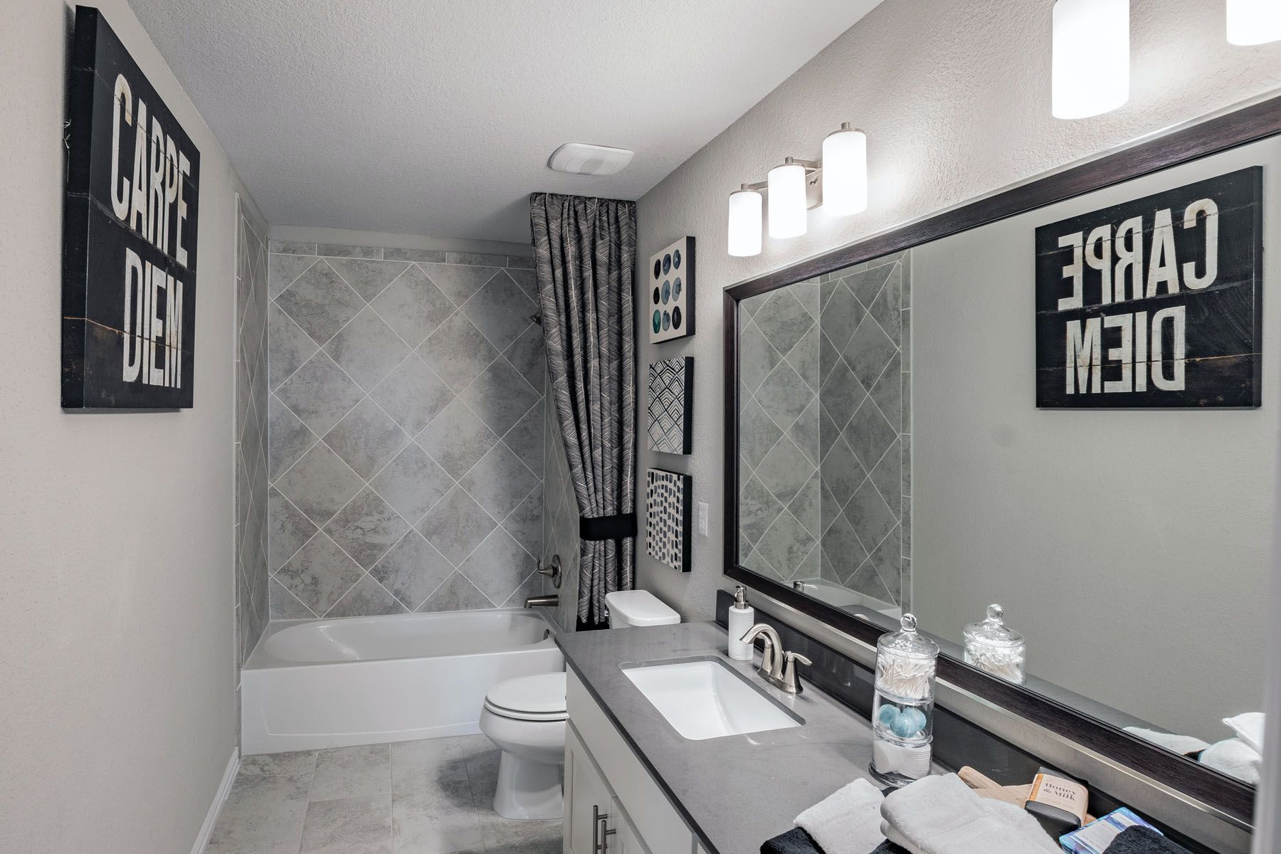 Bathroom featured in the Trinity By M/I Homes in Austin, TX