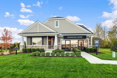 Green Oak Crossing by M/I Homes in Ann Arbor Michigan