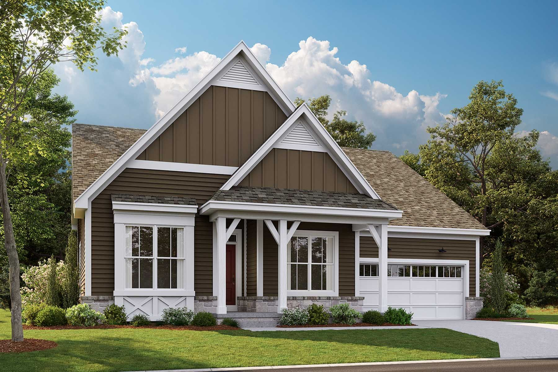 Exterior featured in the Stafford By M/I Homes in Detroit, MI