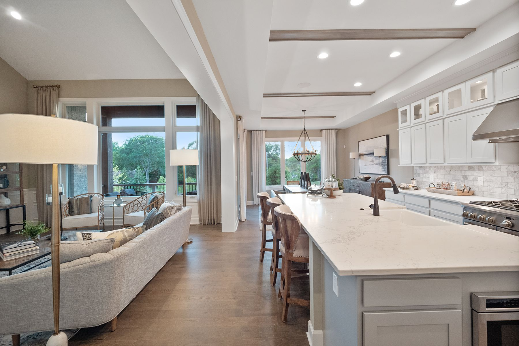 Kitchen featured in the Hamilton By M/I Homes in Detroit, MI
