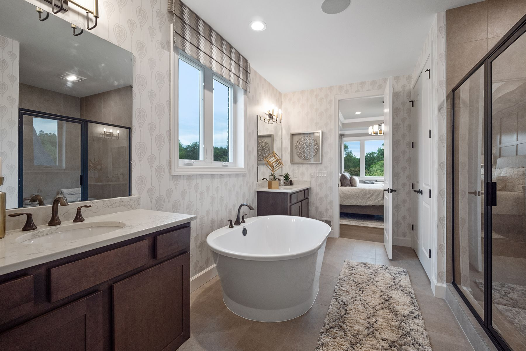 Bathroom featured in the Hamilton By M/I Homes in Detroit, MI