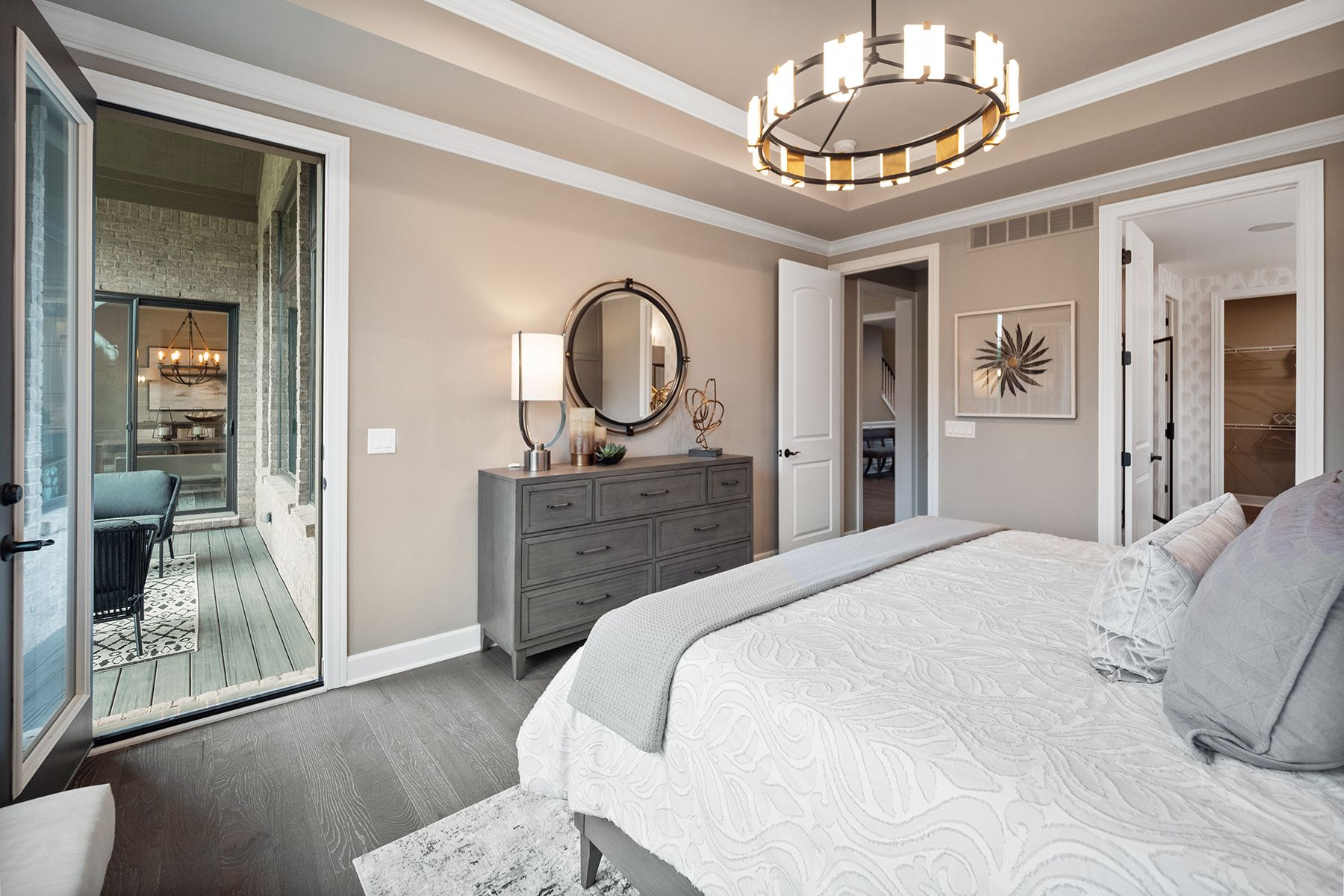 Bedroom featured in the Hamilton By M/I Homes in Detroit, MI