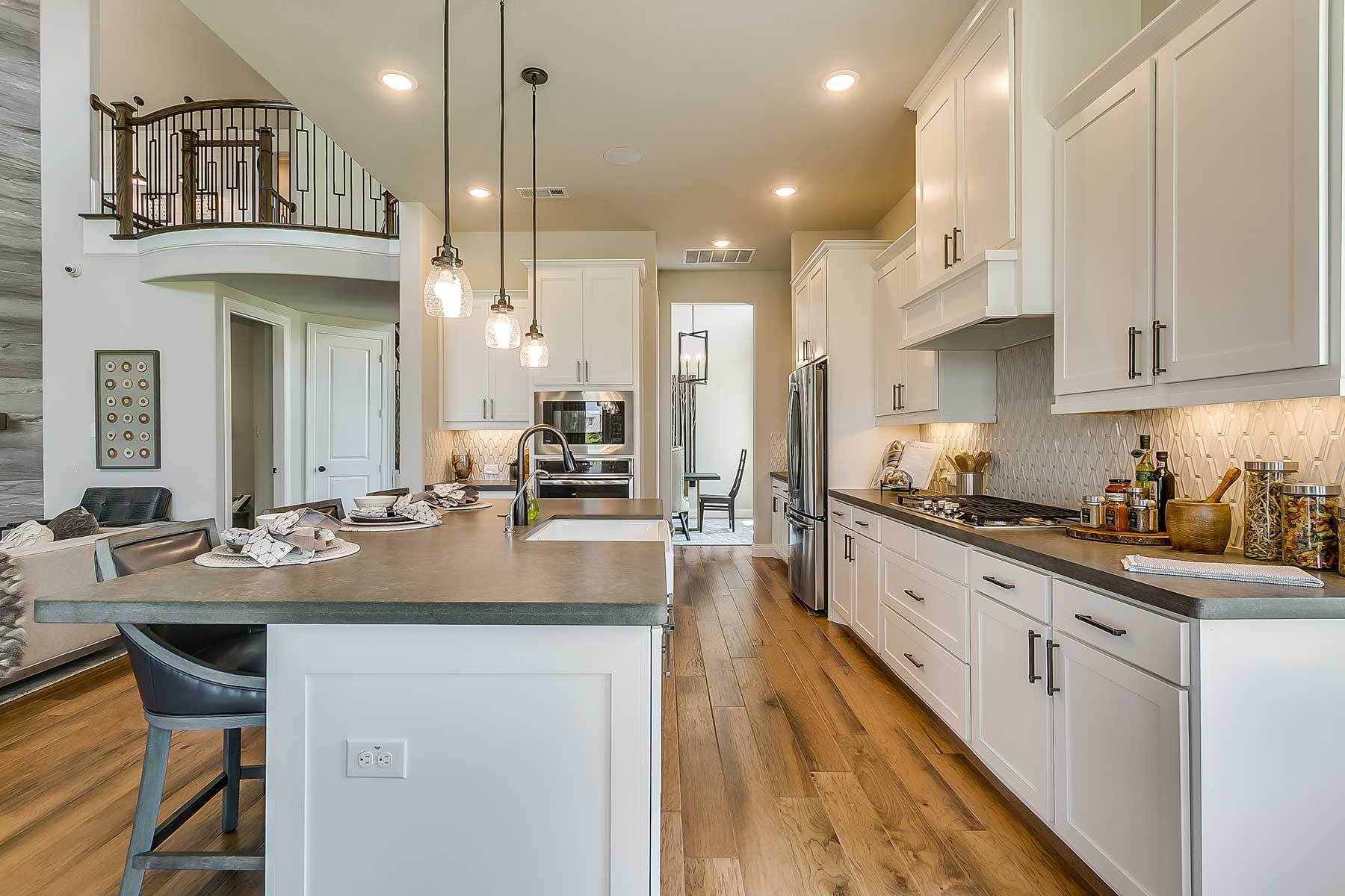 Kitchen featured in the Westridge By M/I Homes in Dallas, TX