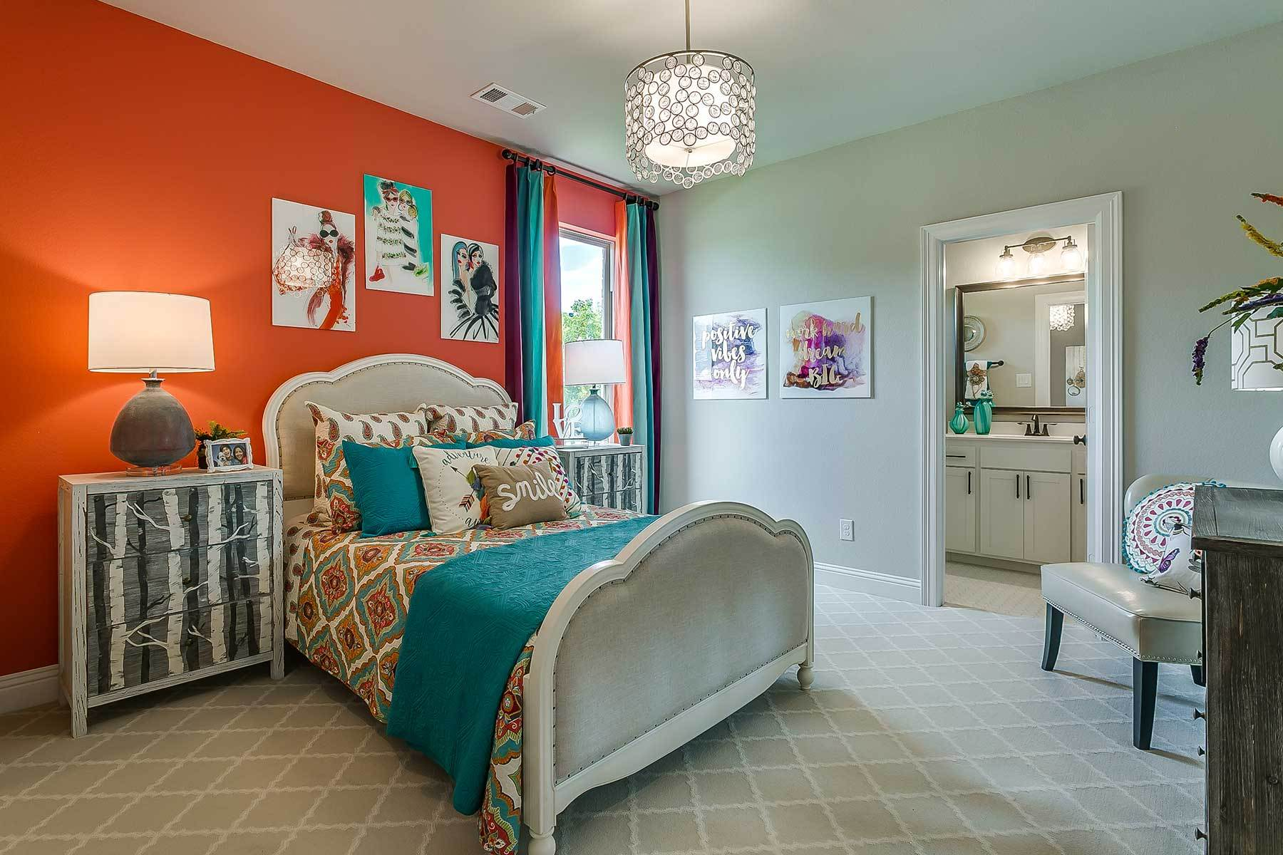 Bedroom featured in the Westridge By M/I Homes in Dallas, TX