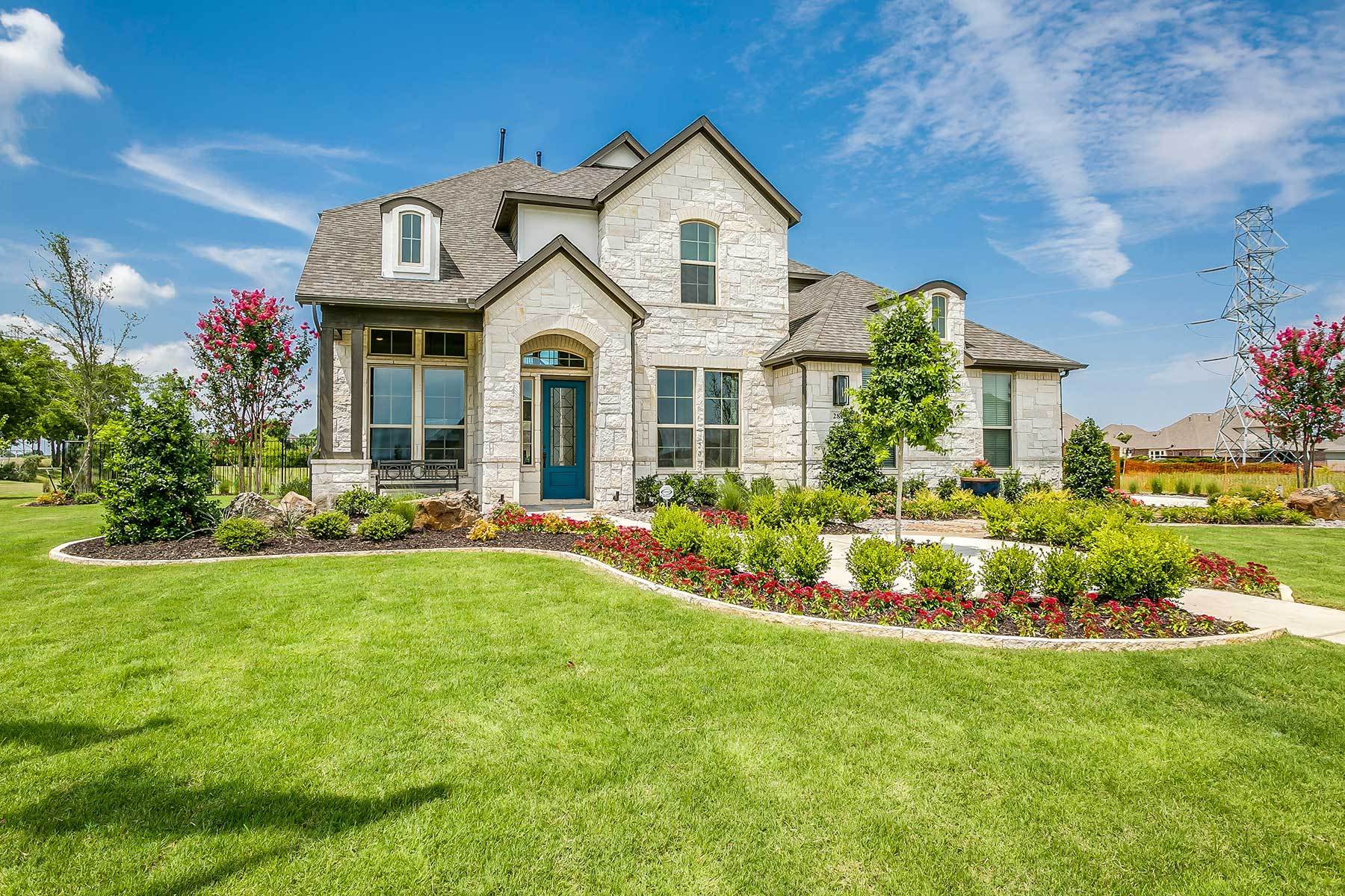 Exterior featured in the Westridge By M/I Homes in Dallas, TX