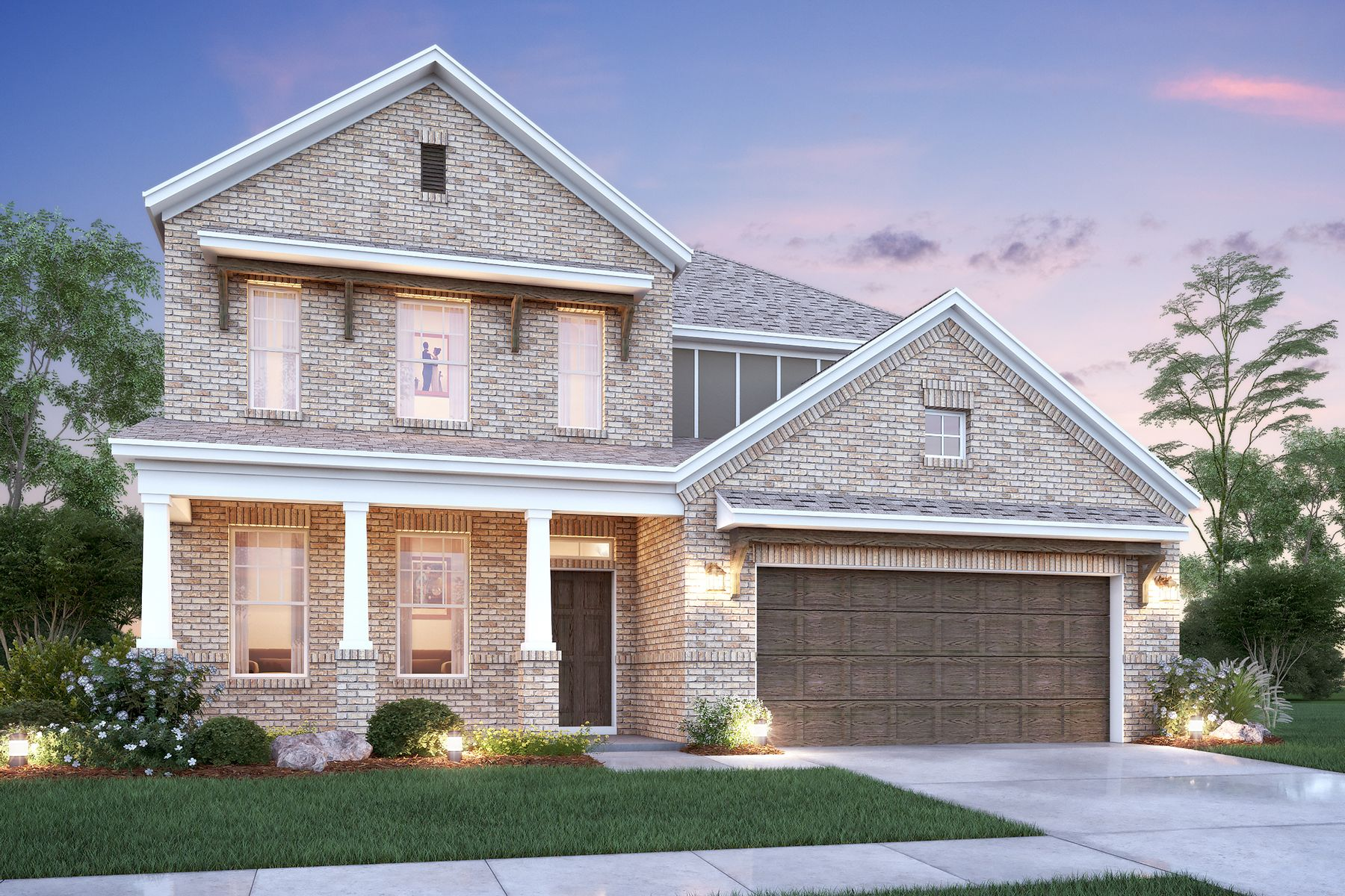 Exterior featured in the Bryant By M/I Homes in Fort Worth, TX
