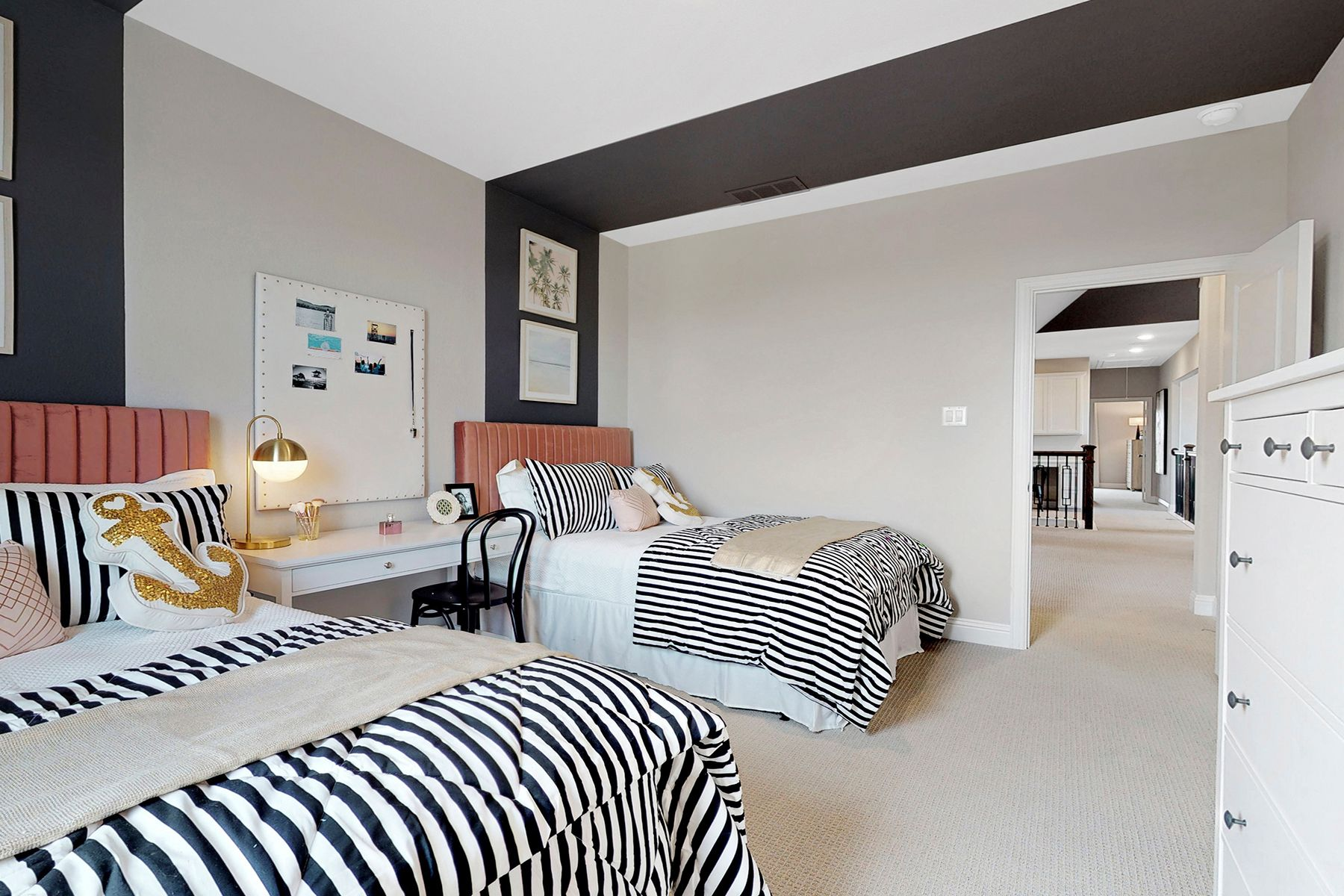 Bedroom featured in the Hickory By M/I Homes in Dallas, TX