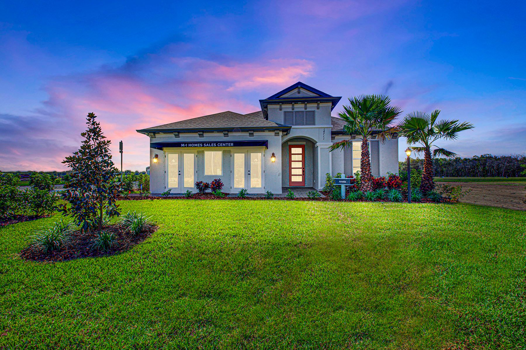 Exterior featured in the Amelia By M/I Homes in Sarasota-Bradenton, FL