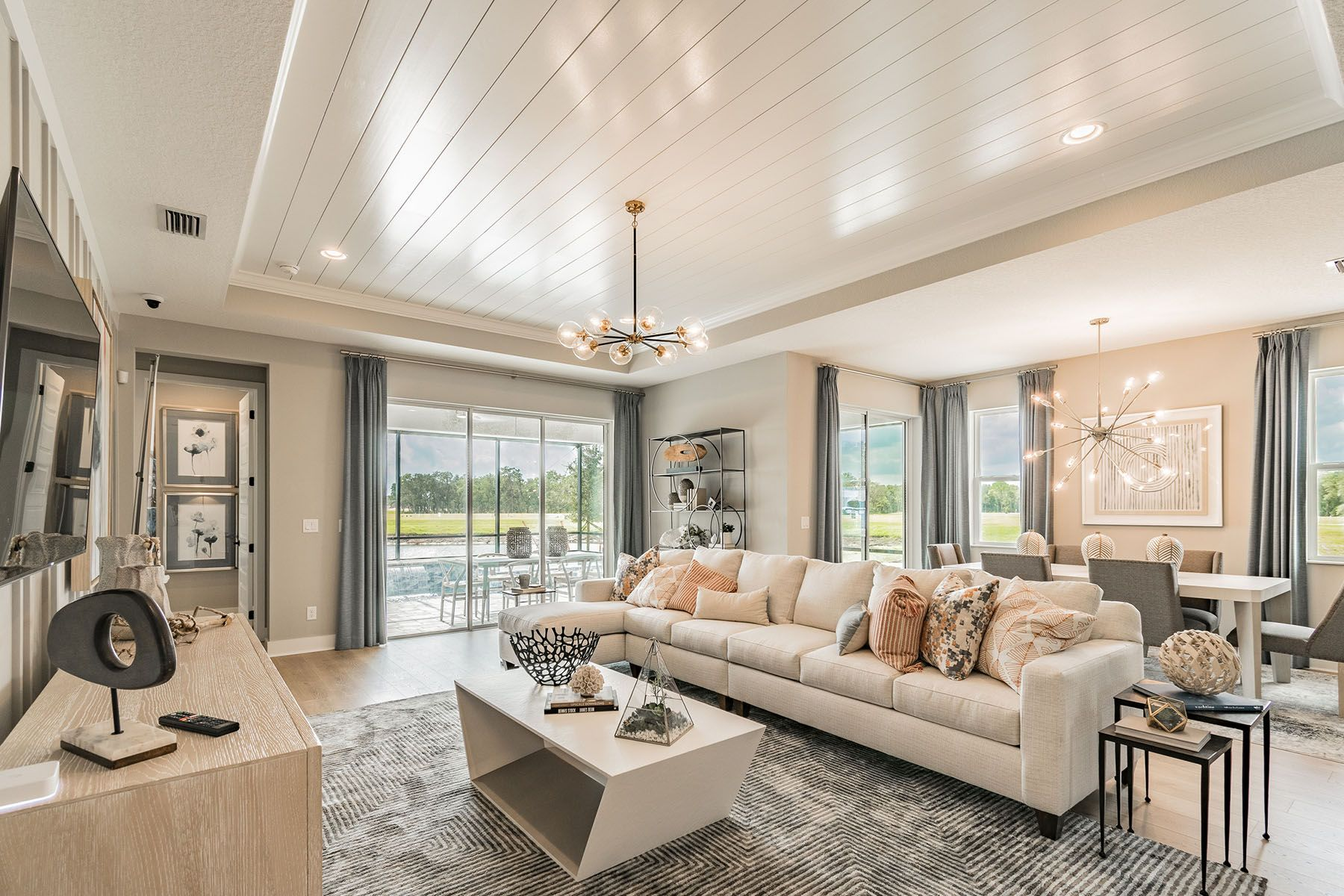 Living Area featured in the Amelia By M/I Homes in Sarasota-Bradenton, FL