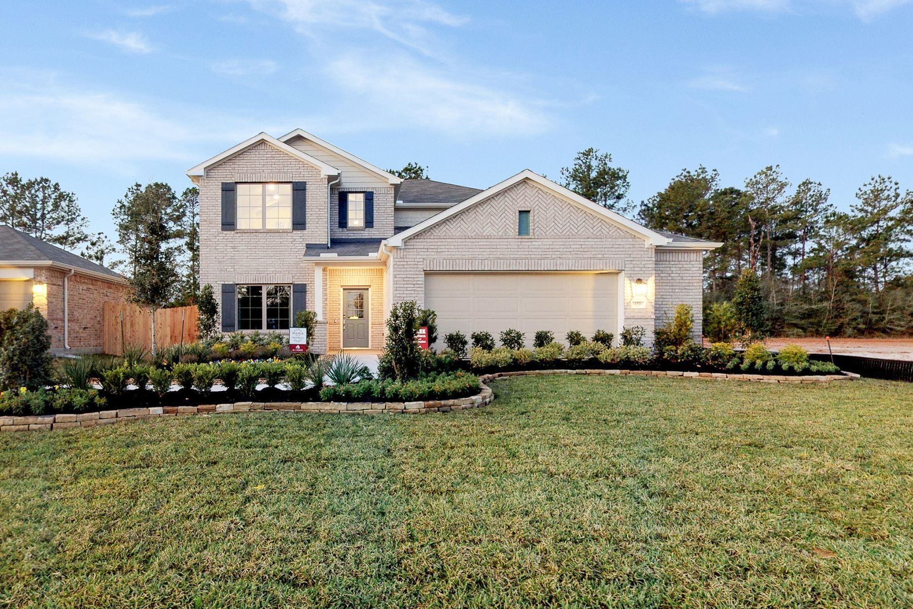 Exterior featured in the Magellan By M/I Homes in Houston, TX