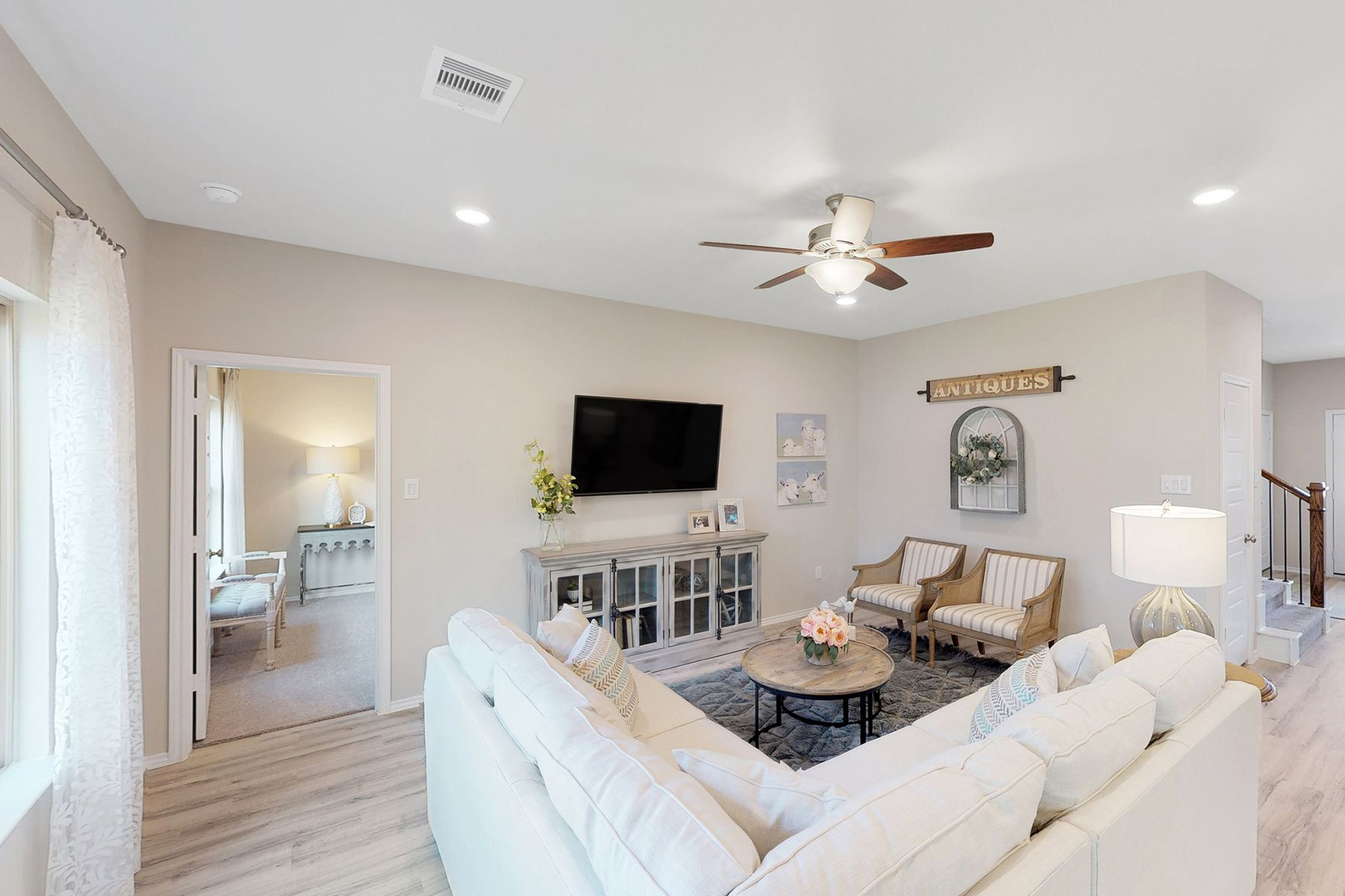 Living Area featured in the Magellan By M/I Homes in Houston, TX