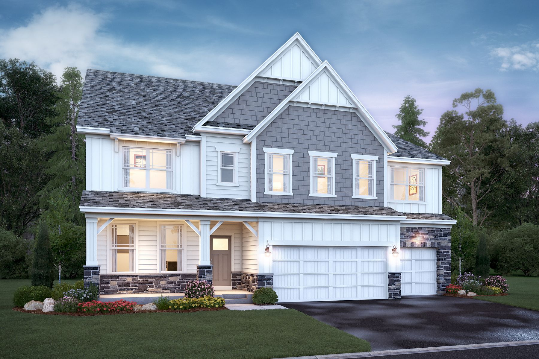 Exterior featured in the Nicholas By M/I Homes in Minneapolis-St. Paul, MN