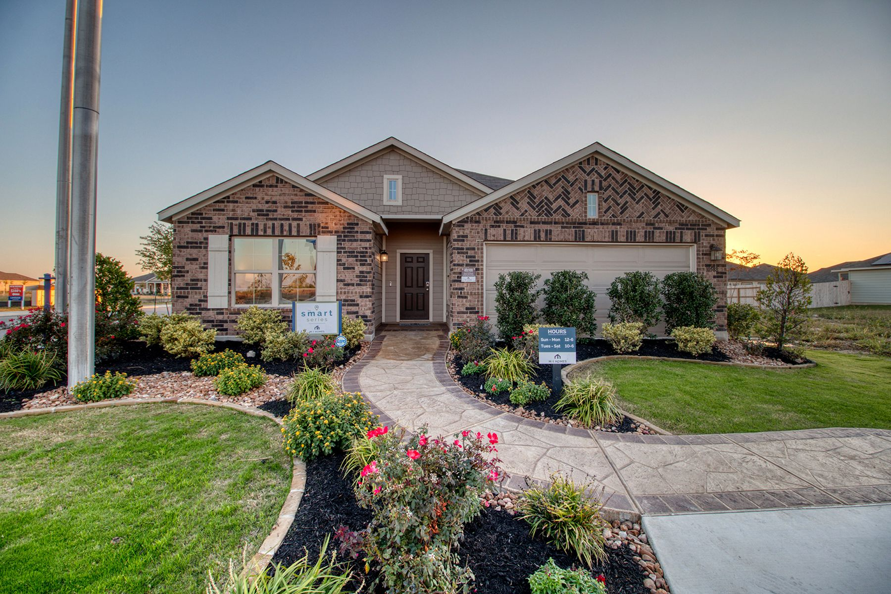 Exterior featured in the Boone By M/I Homes in San Antonio, TX