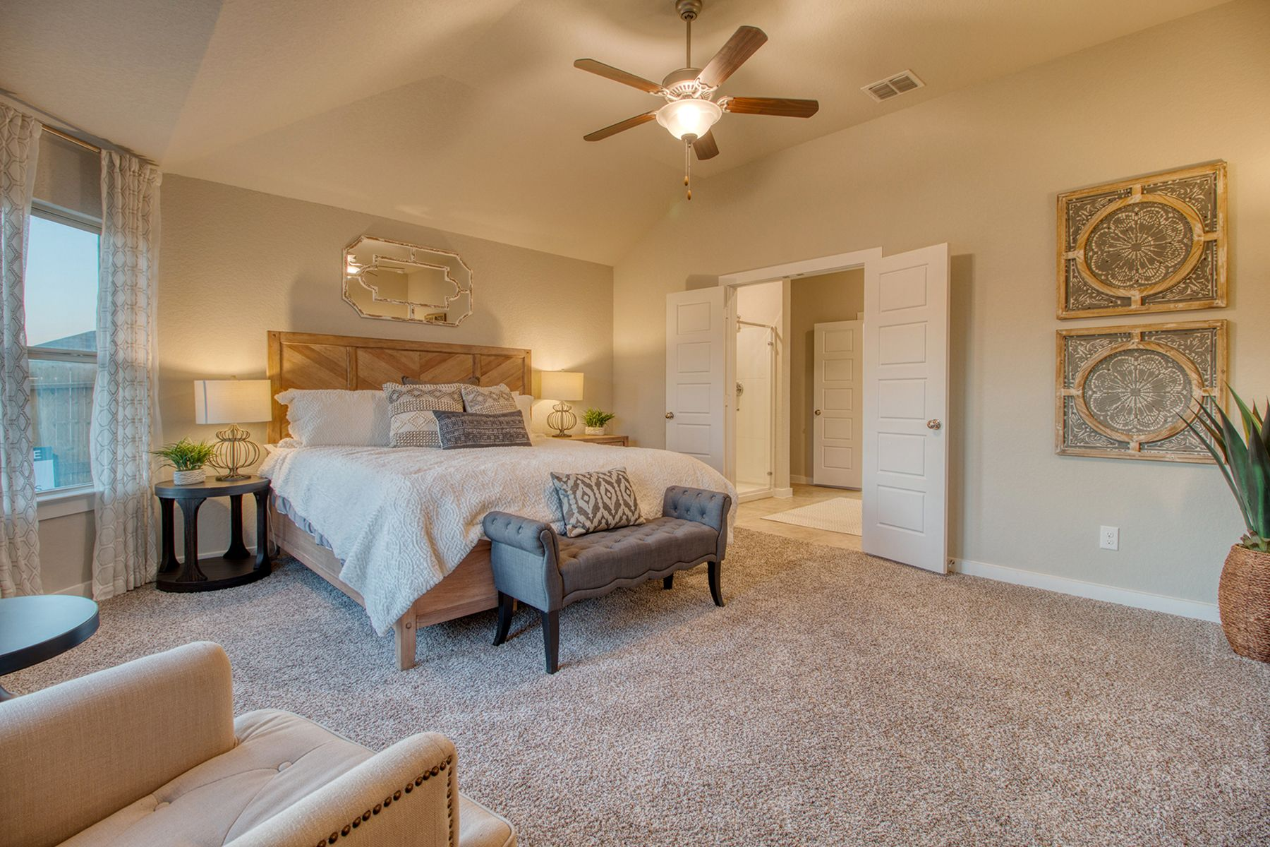 Bedroom featured in the Boone By M/I Homes in San Antonio, TX