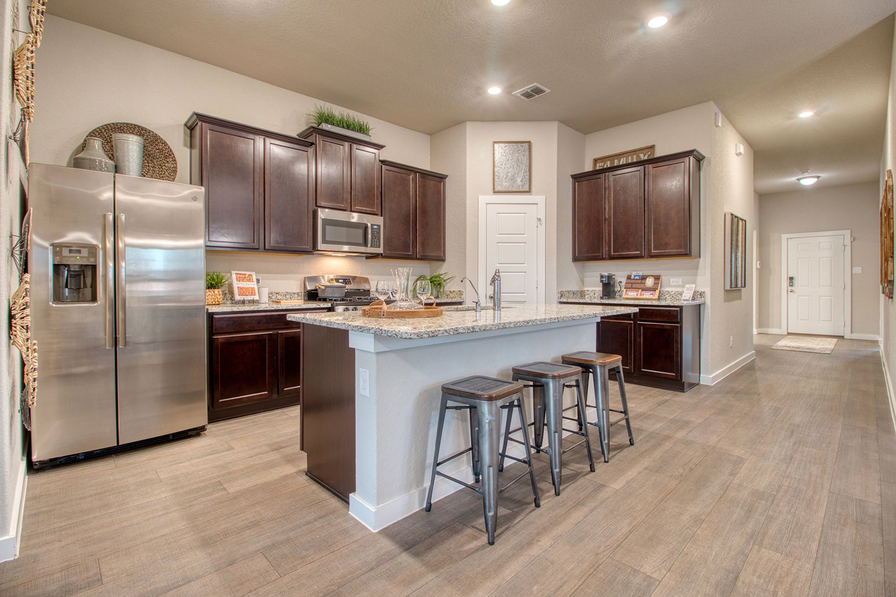 Kitchen featured in the Boone By M/I Homes in San Antonio, TX