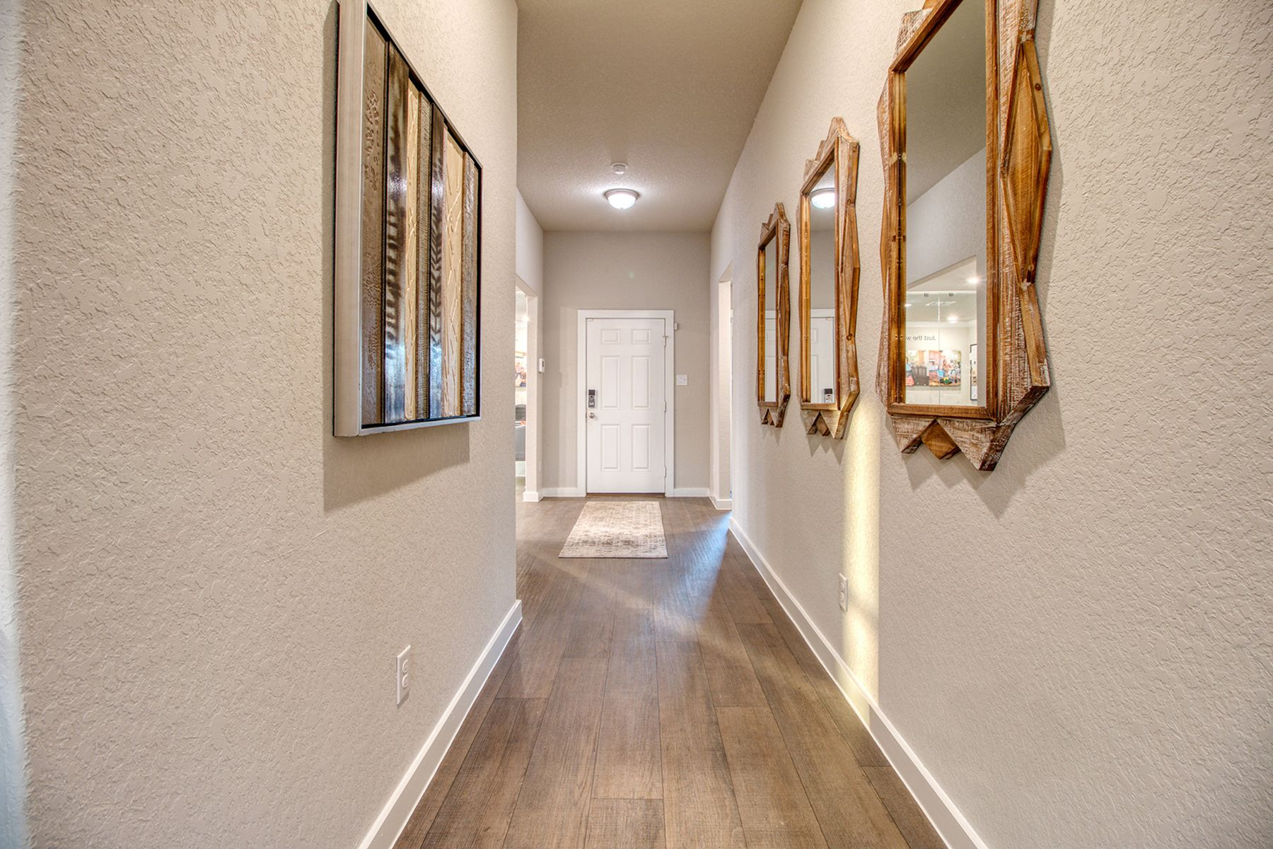 Living Area featured in the Boone By M/I Homes in San Antonio, TX