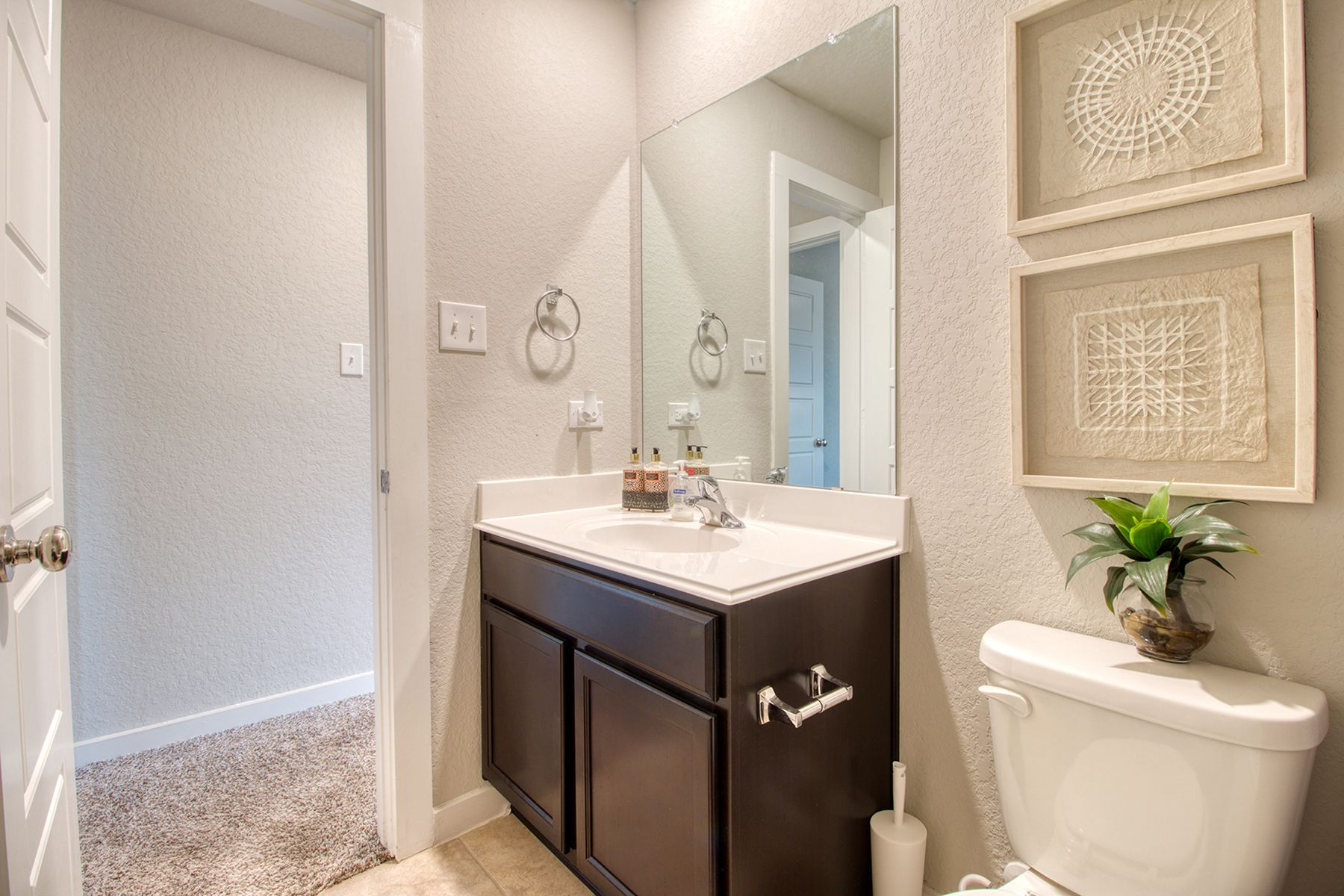 Bathroom featured in the Boone By M/I Homes in San Antonio, TX