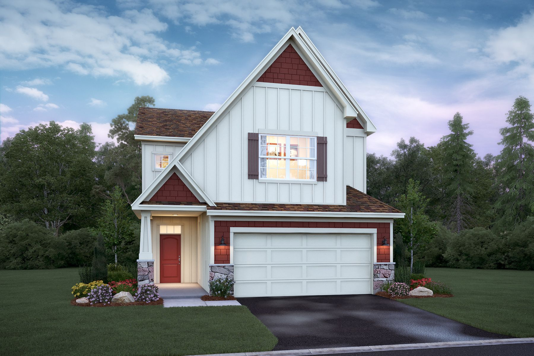 Exterior featured in the Everett By M/I Homes in Minneapolis-St. Paul, MN