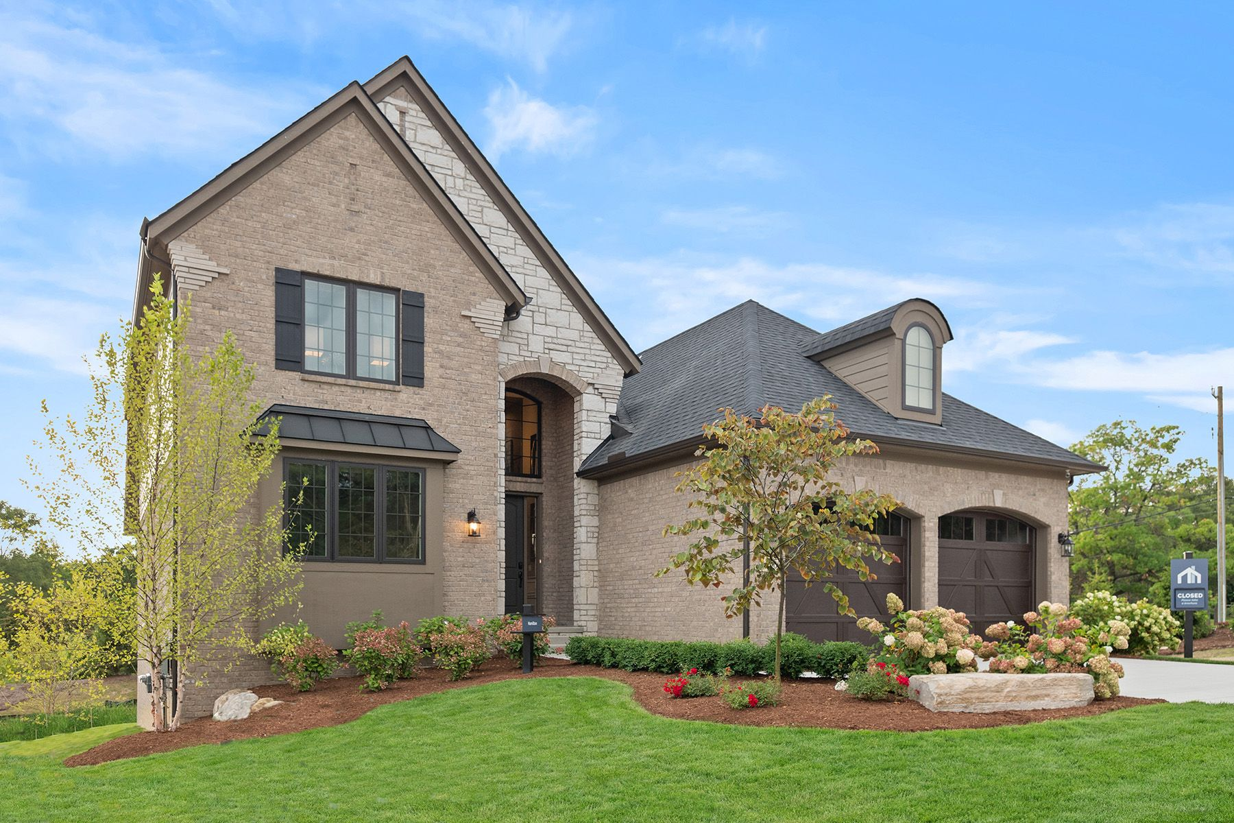 Exterior featured in the Hamilton By M/I Homes in Detroit, MI