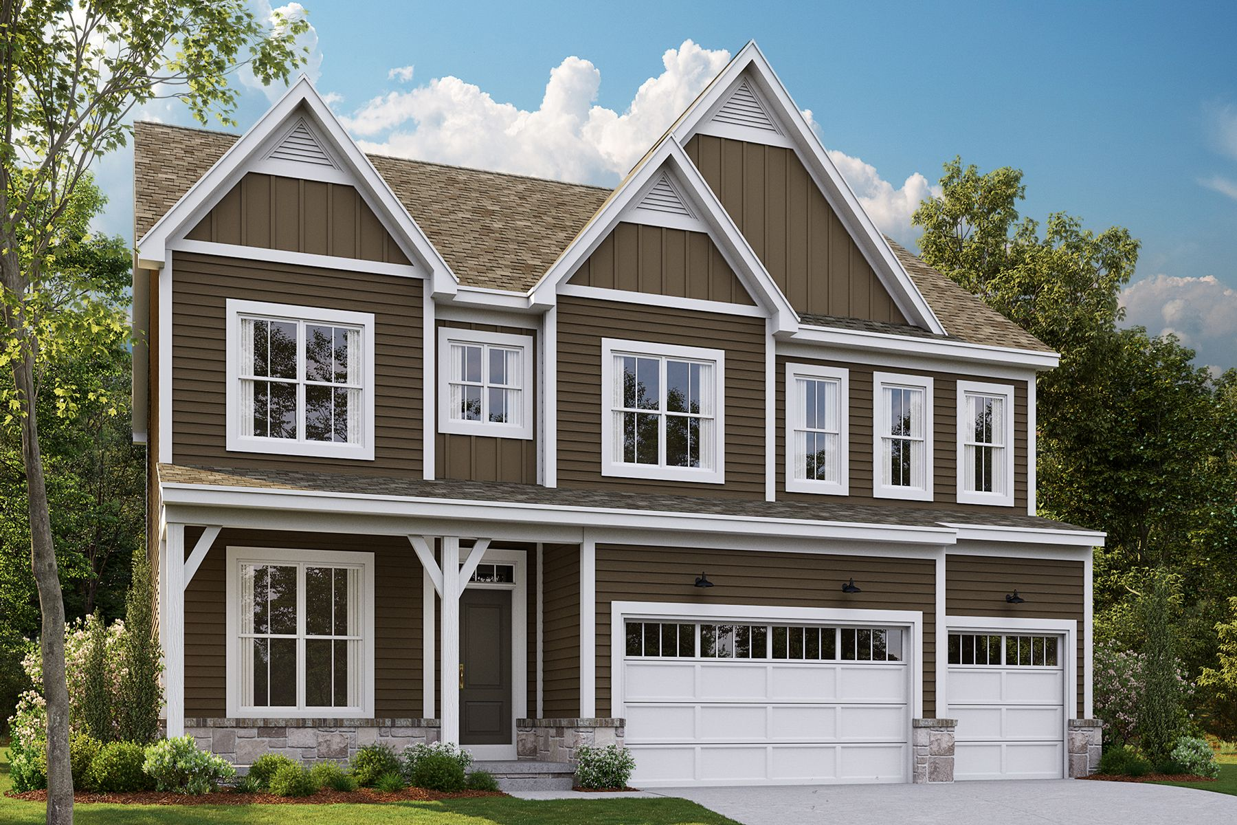 Exterior featured in the Lyndale By M/I Homes in Detroit, MI