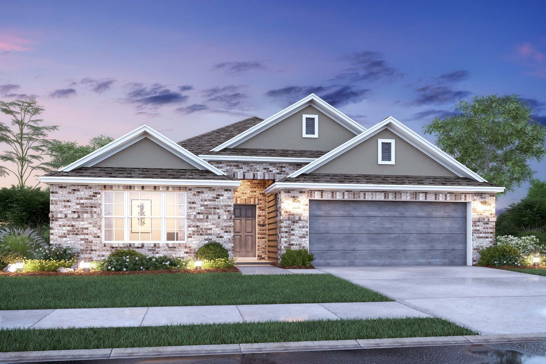 Exterior featured in the Pizarro By M/I Homes in Dallas, TX