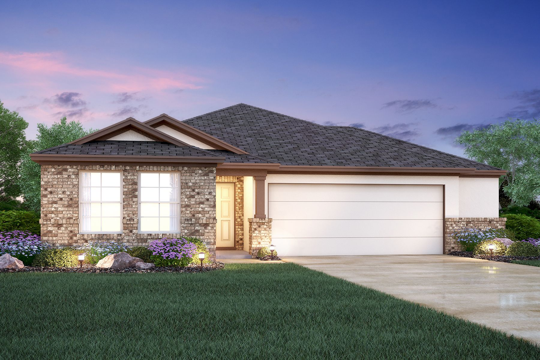 Exterior featured in the Eastland By M/I Homes in Austin, TX