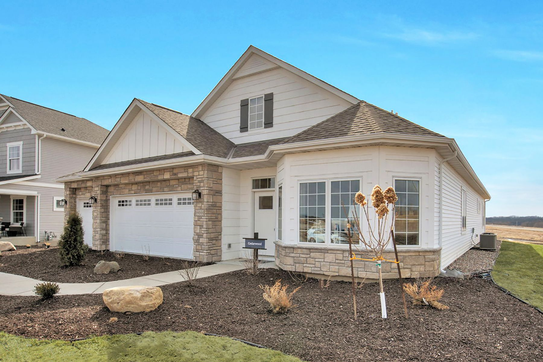 Exterior featured in the Cedarwood By M/I Homes in Minneapolis-St. Paul, MN