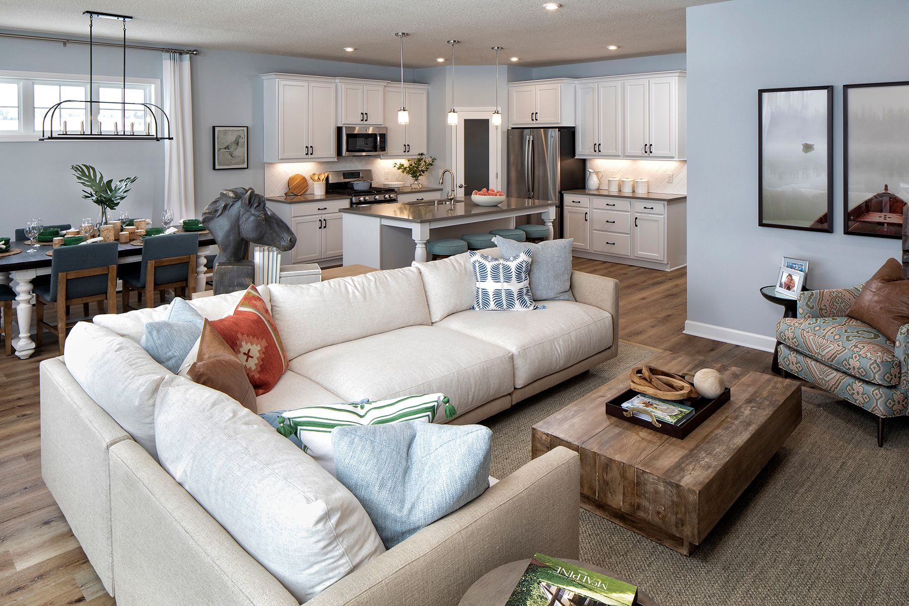 Living Area featured in the Cedarwood By M/I Homes in Minneapolis-St. Paul, MN