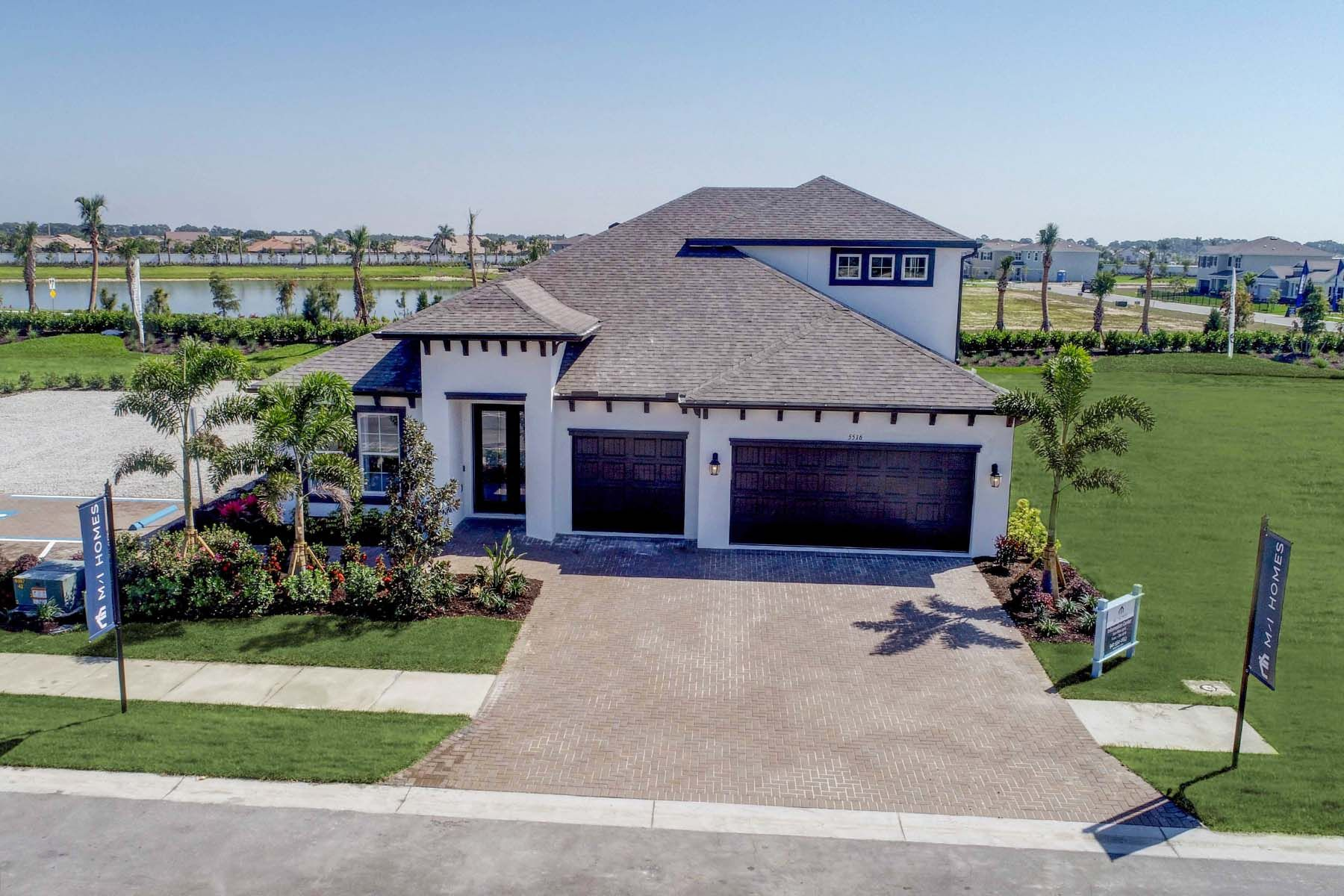 Exterior featured in the Crystal By M/I Homes in Sarasota-Bradenton, FL