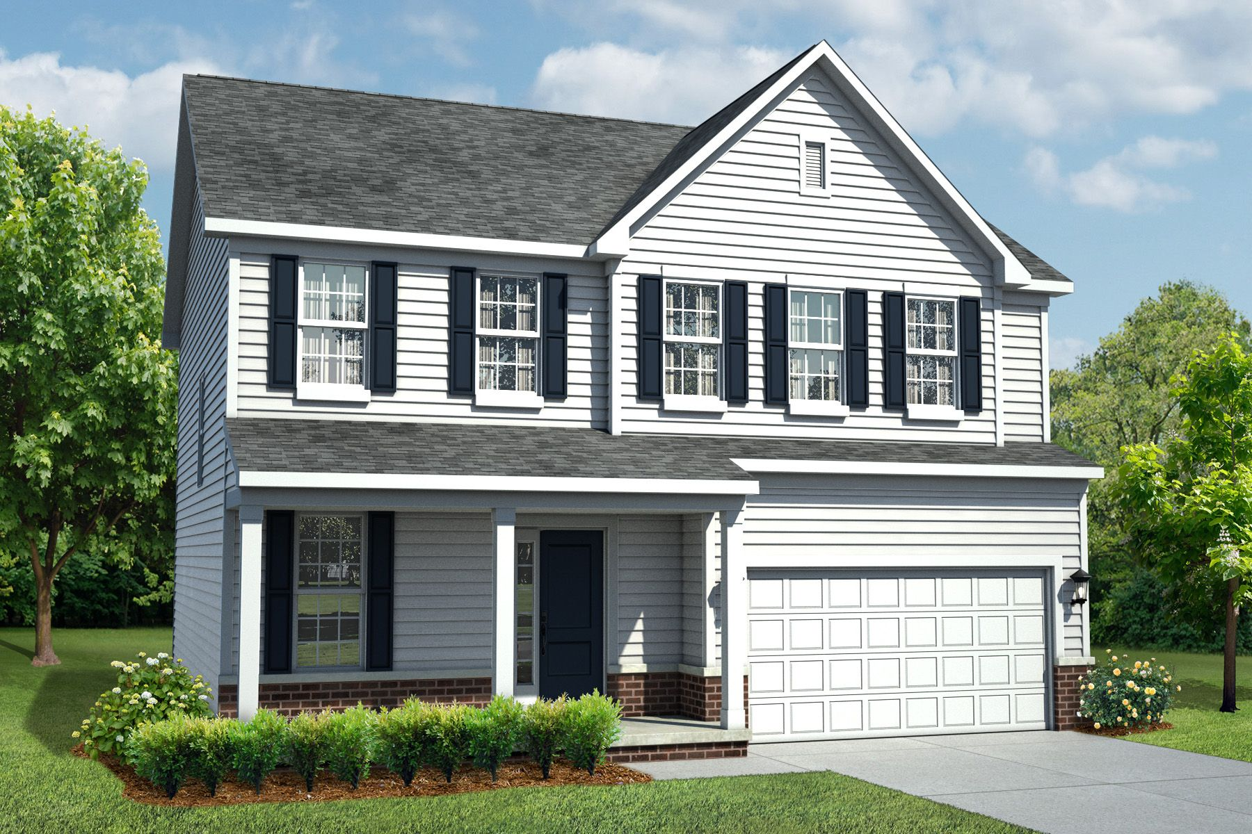 Exterior featured in the Findlay By M/I Homes in Ann Arbor, MI