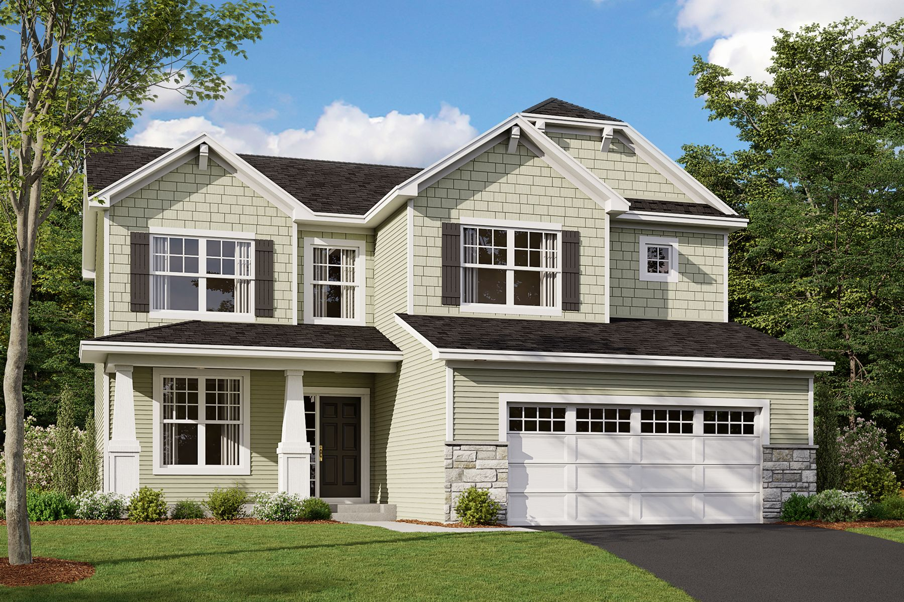 Exterior featured in the Dearborn By M/I Homes in Minneapolis-St. Paul, MN