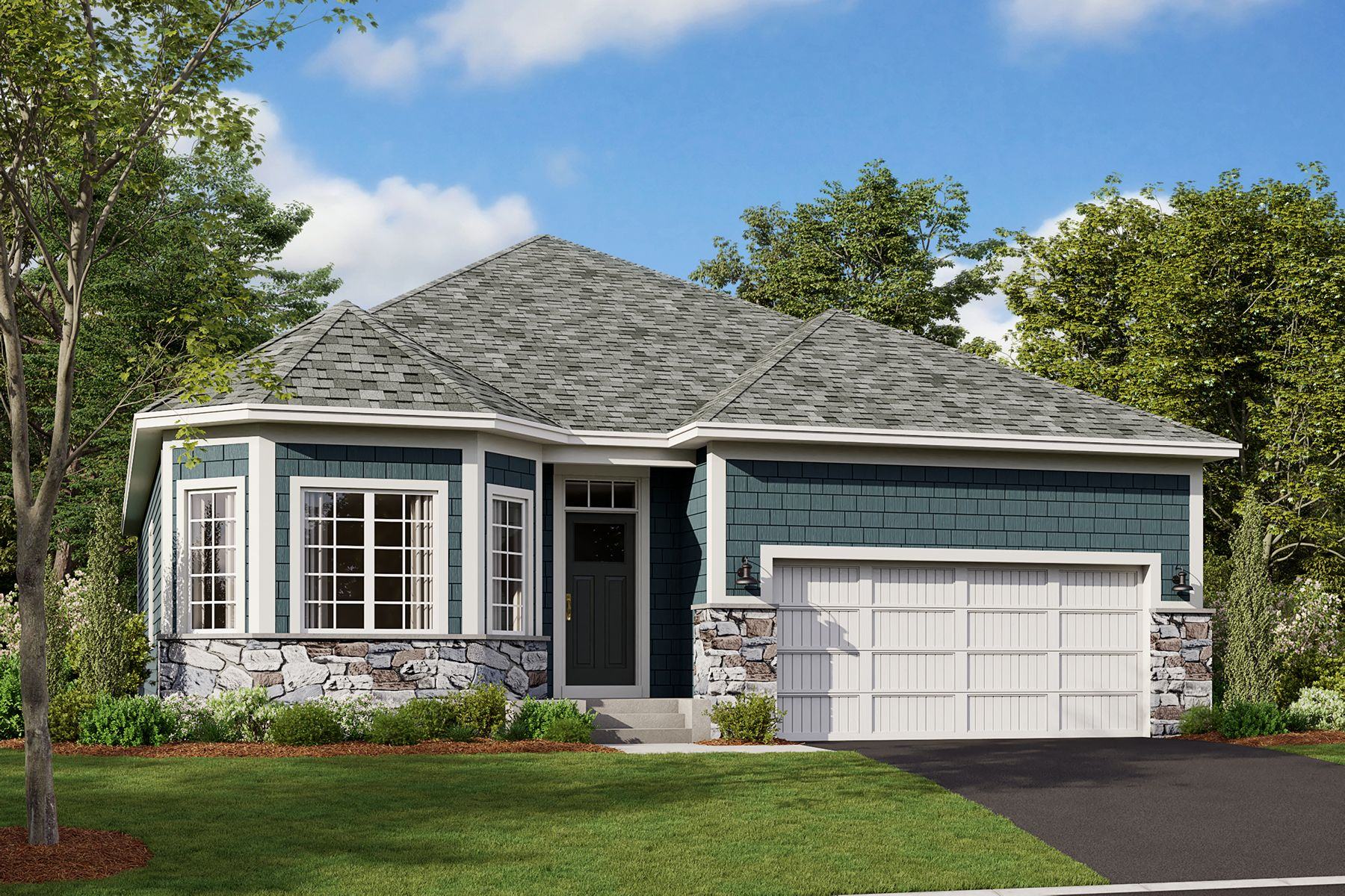 Exterior featured in the Graystone By M/I Homes in Minneapolis-St. Paul, MN