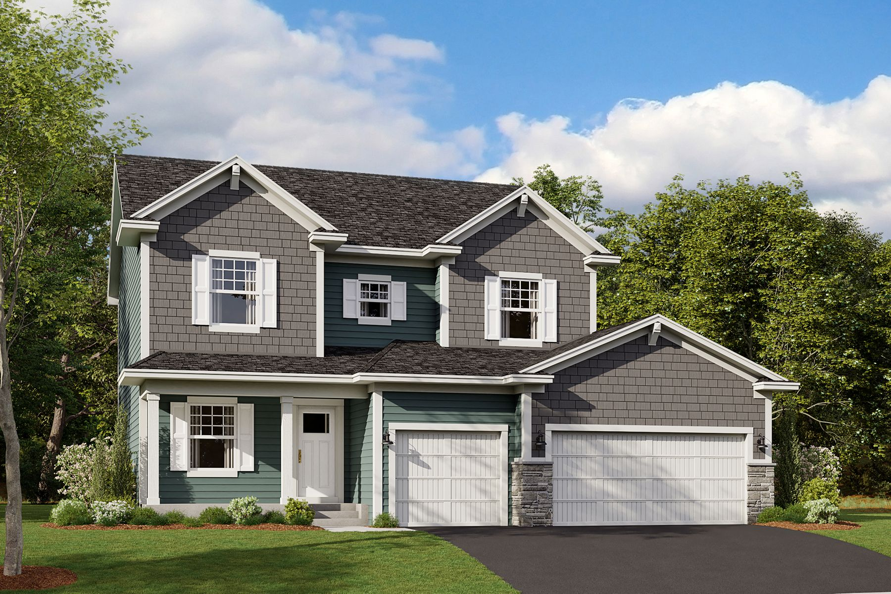Exterior featured in the Taylor By M/I Homes in Minneapolis-St. Paul, MN