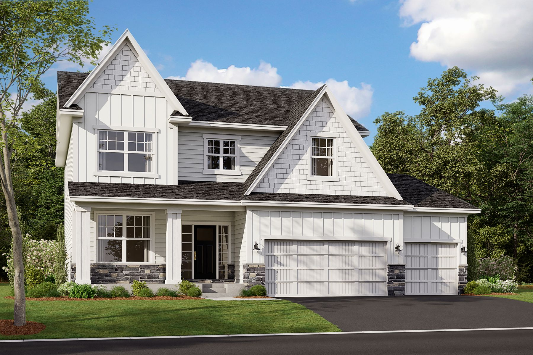 Exterior featured in the Zachary By M/I Homes in Minneapolis-St. Paul, MN