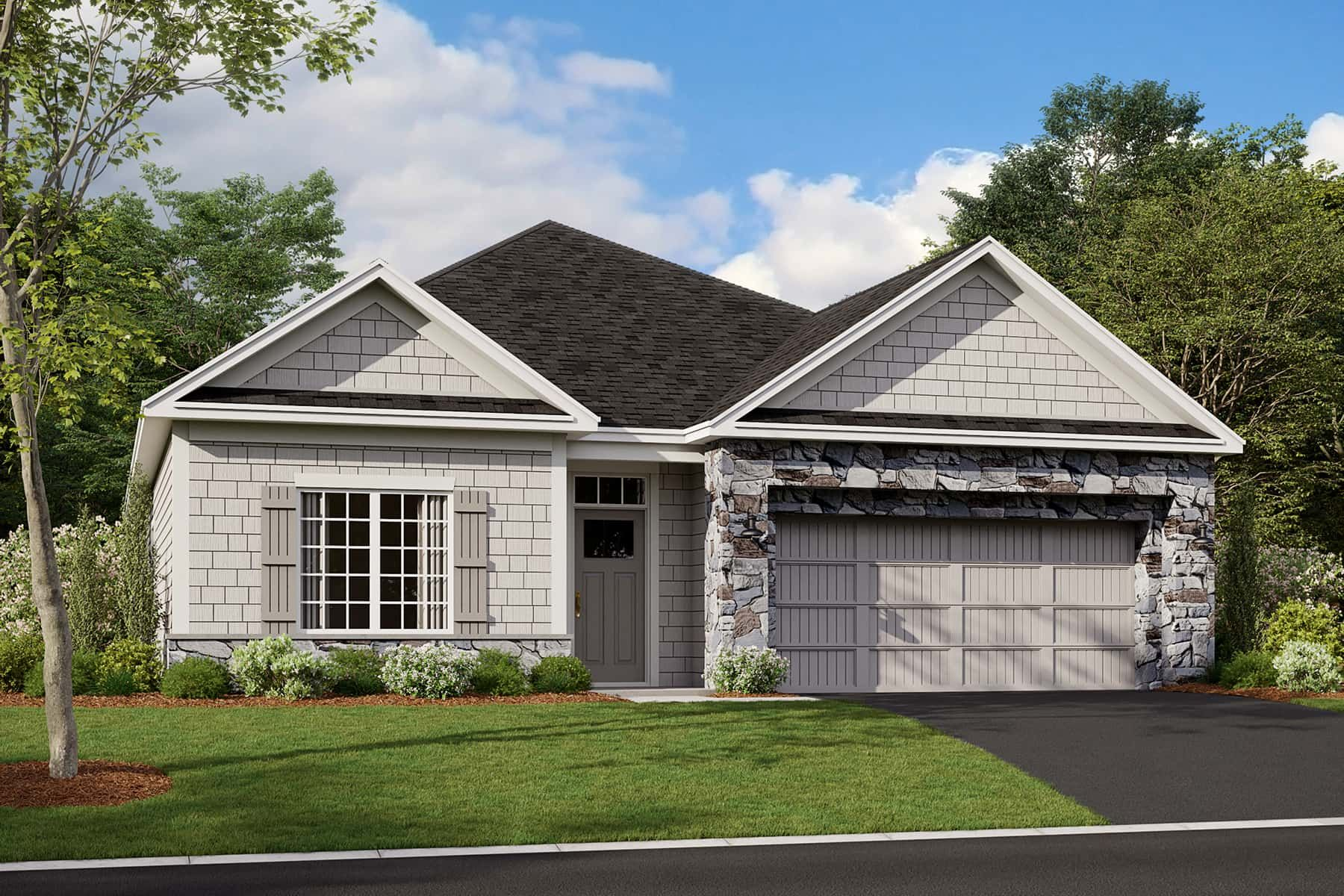 Exterior featured in the Cedarwood II By M/I Homes in Minneapolis-St. Paul, MN