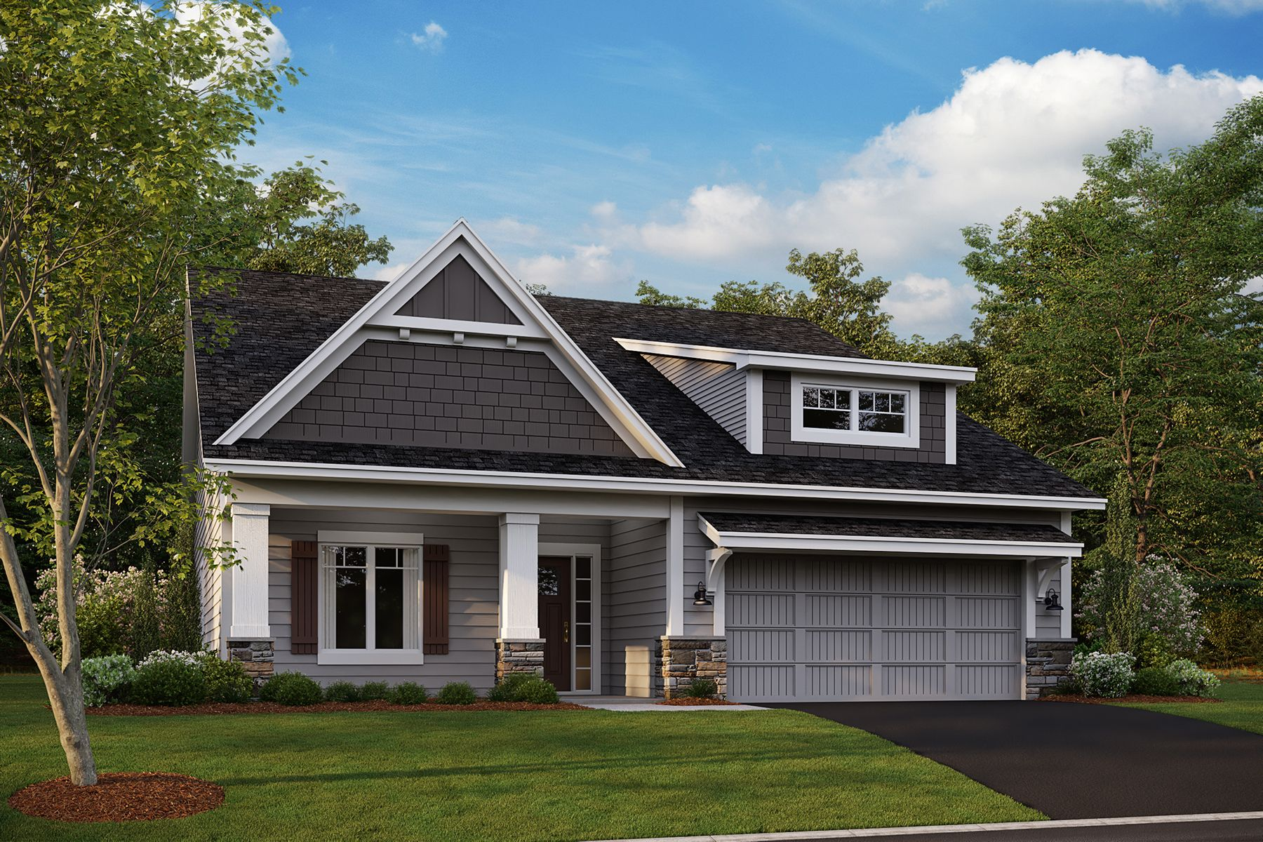 Exterior featured in the Willow By M/I Homes in Minneapolis-St. Paul, MN