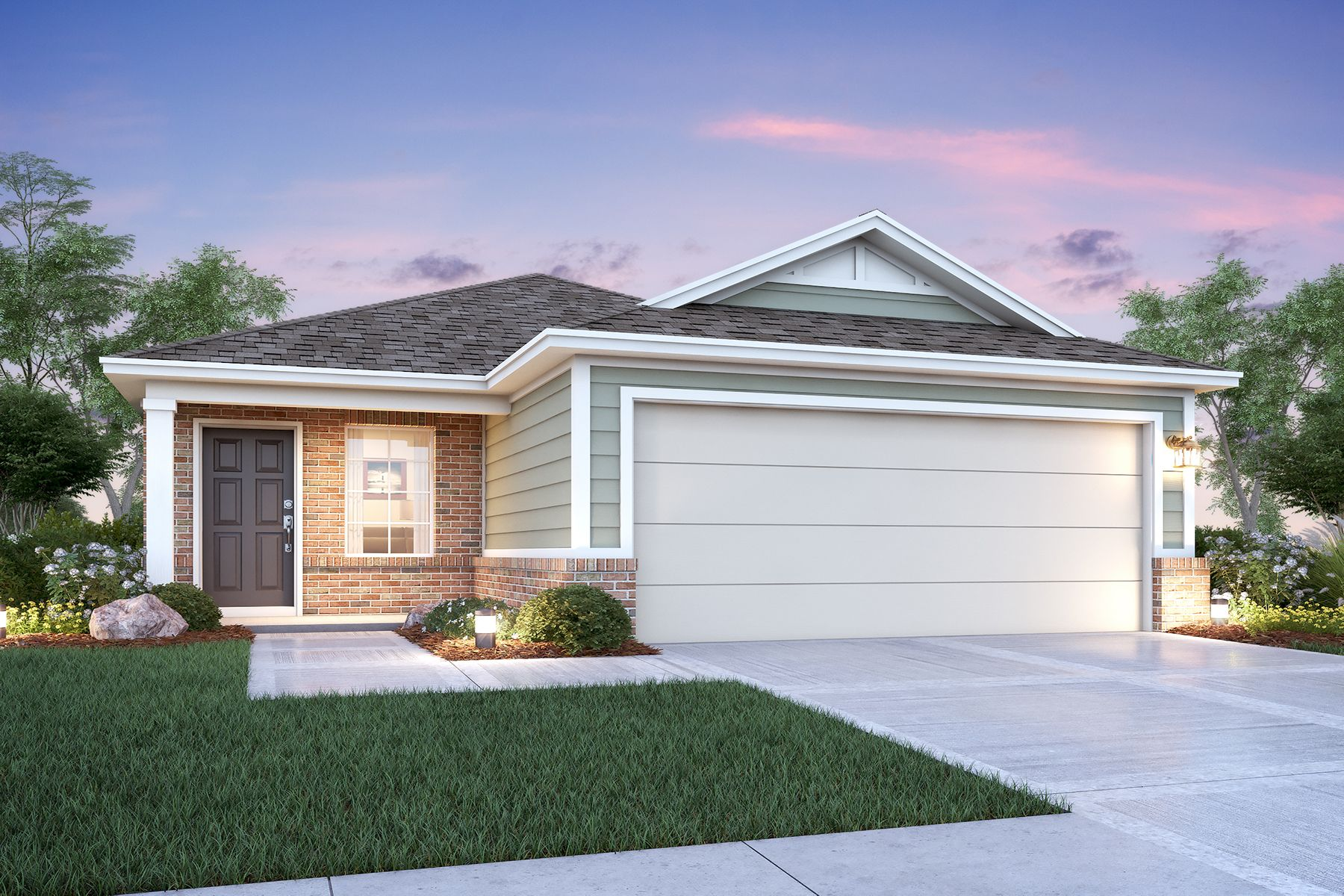 Exterior featured in the Magnolia By M/I Homes in San Antonio, TX