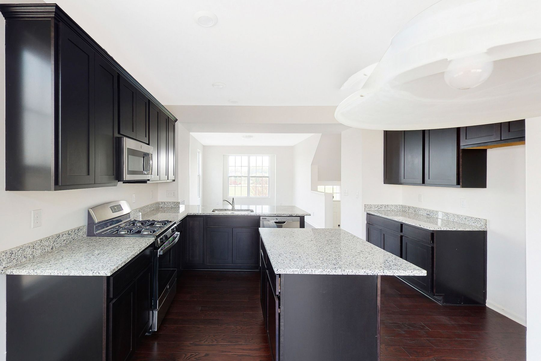 Kitchen featured in the Aria - B End Unit By M/I Homes in Detroit, MI
