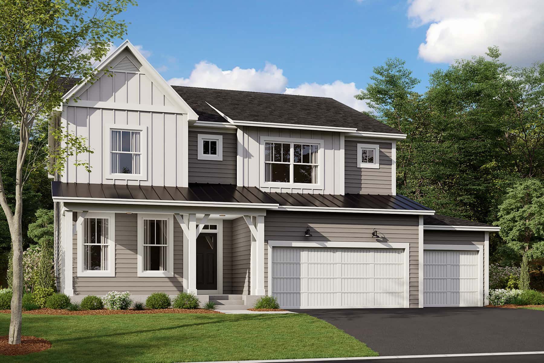 Exterior featured in the Jordan By M/I Homes in Minneapolis-St. Paul, MN
