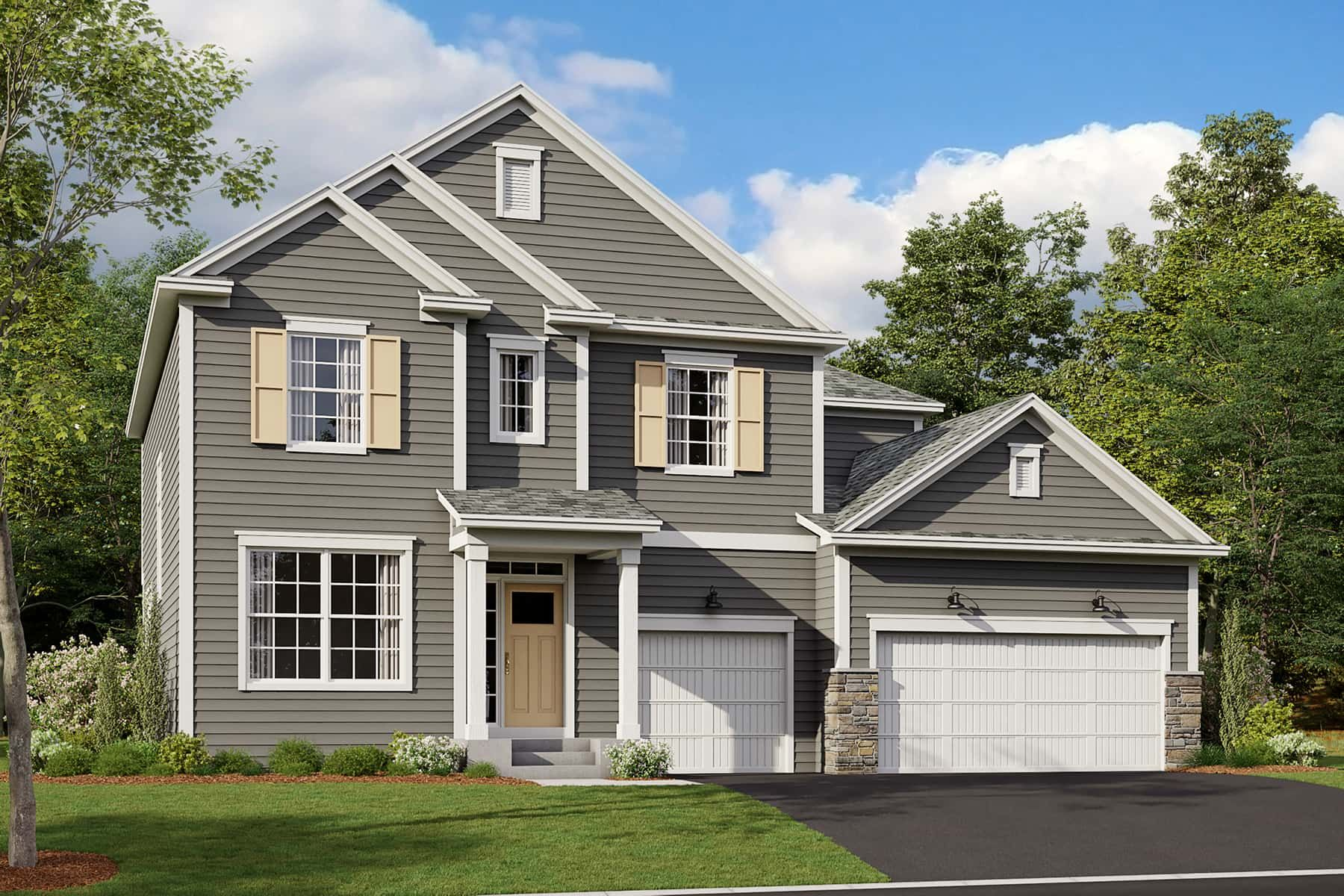Exterior featured in the Joslyn By M/I Homes in Minneapolis-St. Paul, MN