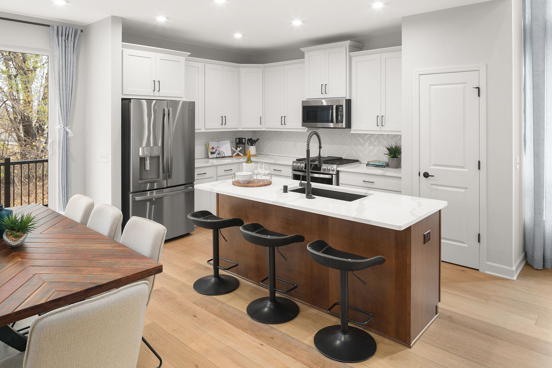 Kitchen featured in the Nokomis - 4 Unit Bldg By M/I Homes in Minneapolis-St. Paul, MN