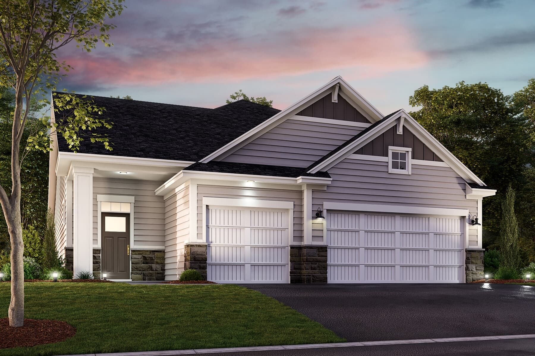 Exterior featured in the Magnolia By M/I Homes in Minneapolis-St. Paul, MN