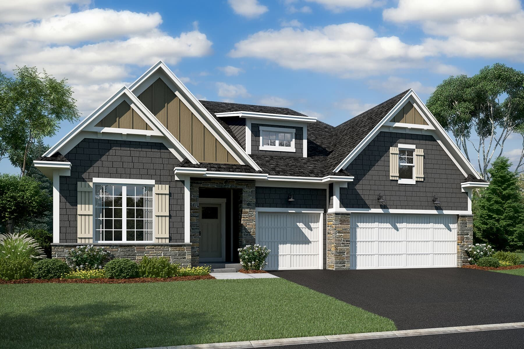 Exterior featured in the Kaiden By M/I Homes in Minneapolis-St. Paul, MN