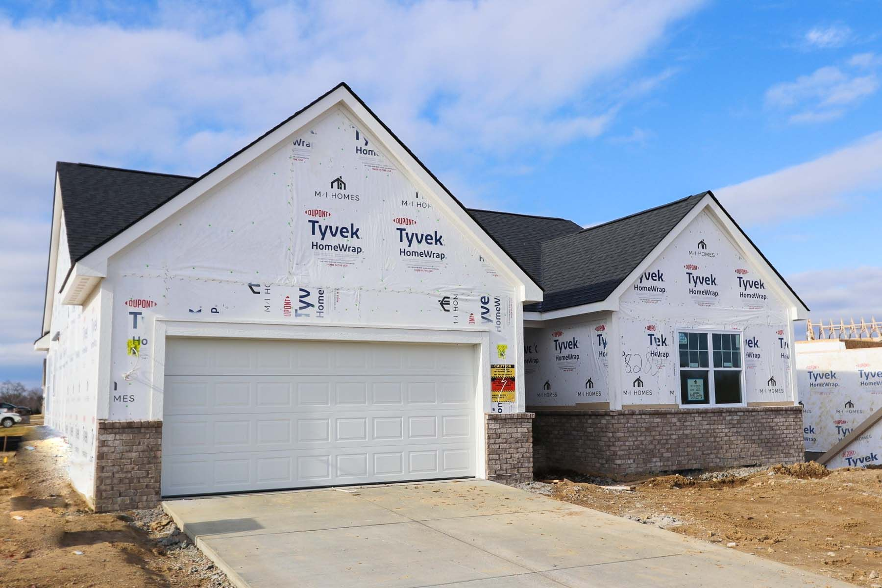 Exterior featured in the Whitmore By M/I Homes in Ann Arbor, MI