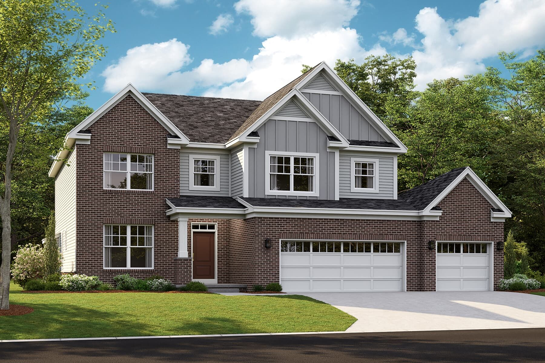 Exterior featured in the Eastman By M/I Homes in Detroit, MI