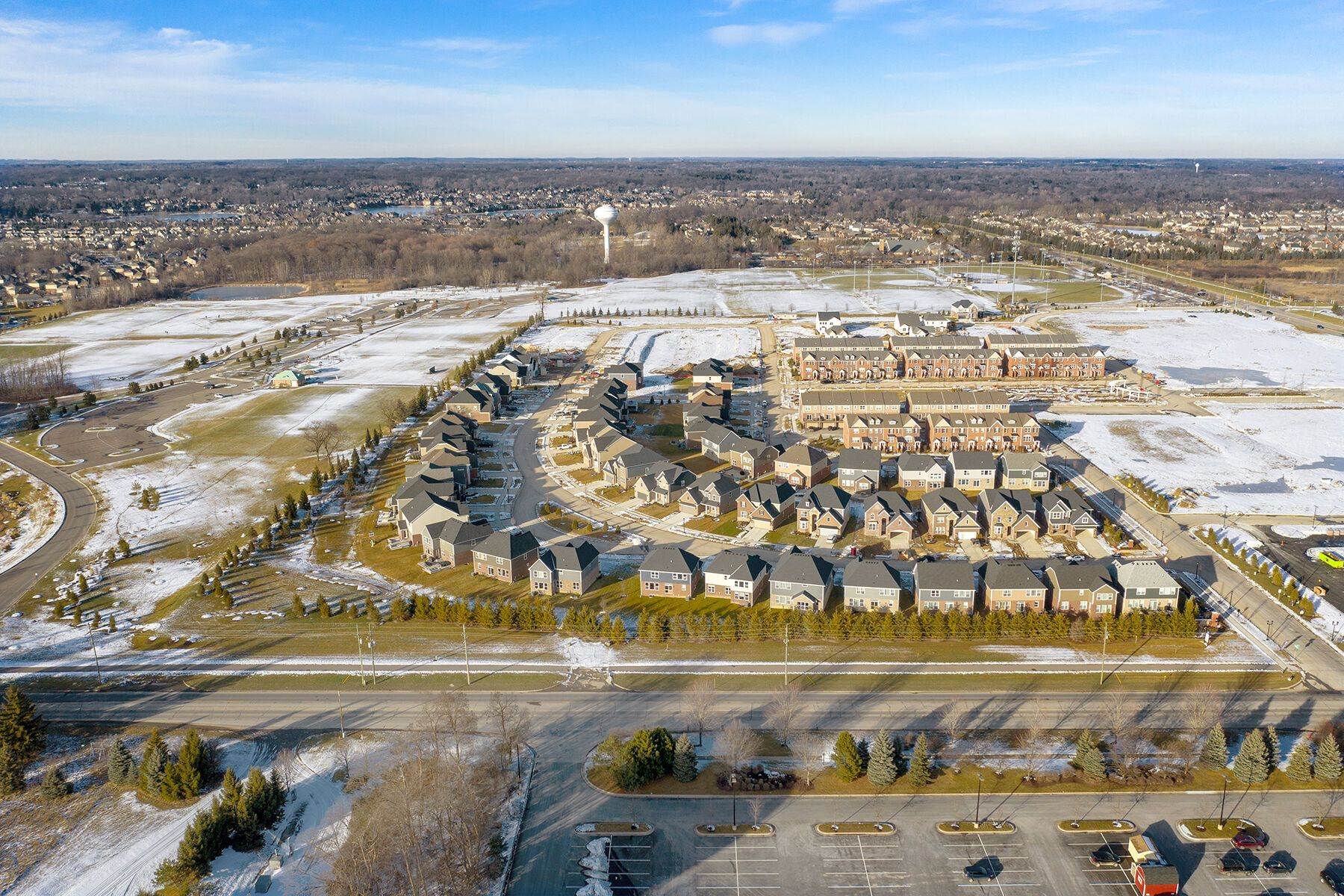 'Village At Northville' by M/I Homes-Michigan in Detroit