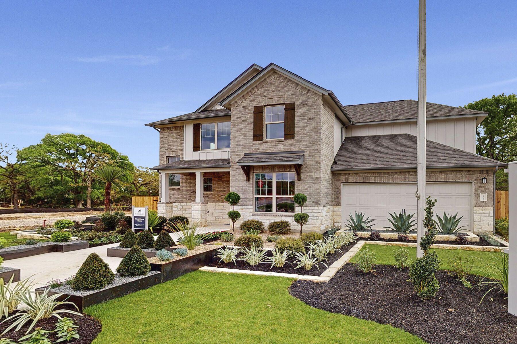 'Arrowhead Ranch' by M/I Homes-Austin in Austin