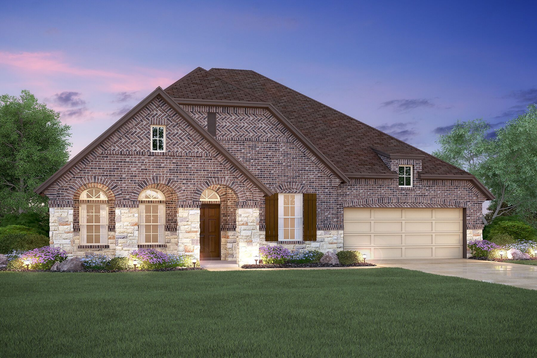 Exterior featured in the Angelina By M/I Homes in Dallas, TX