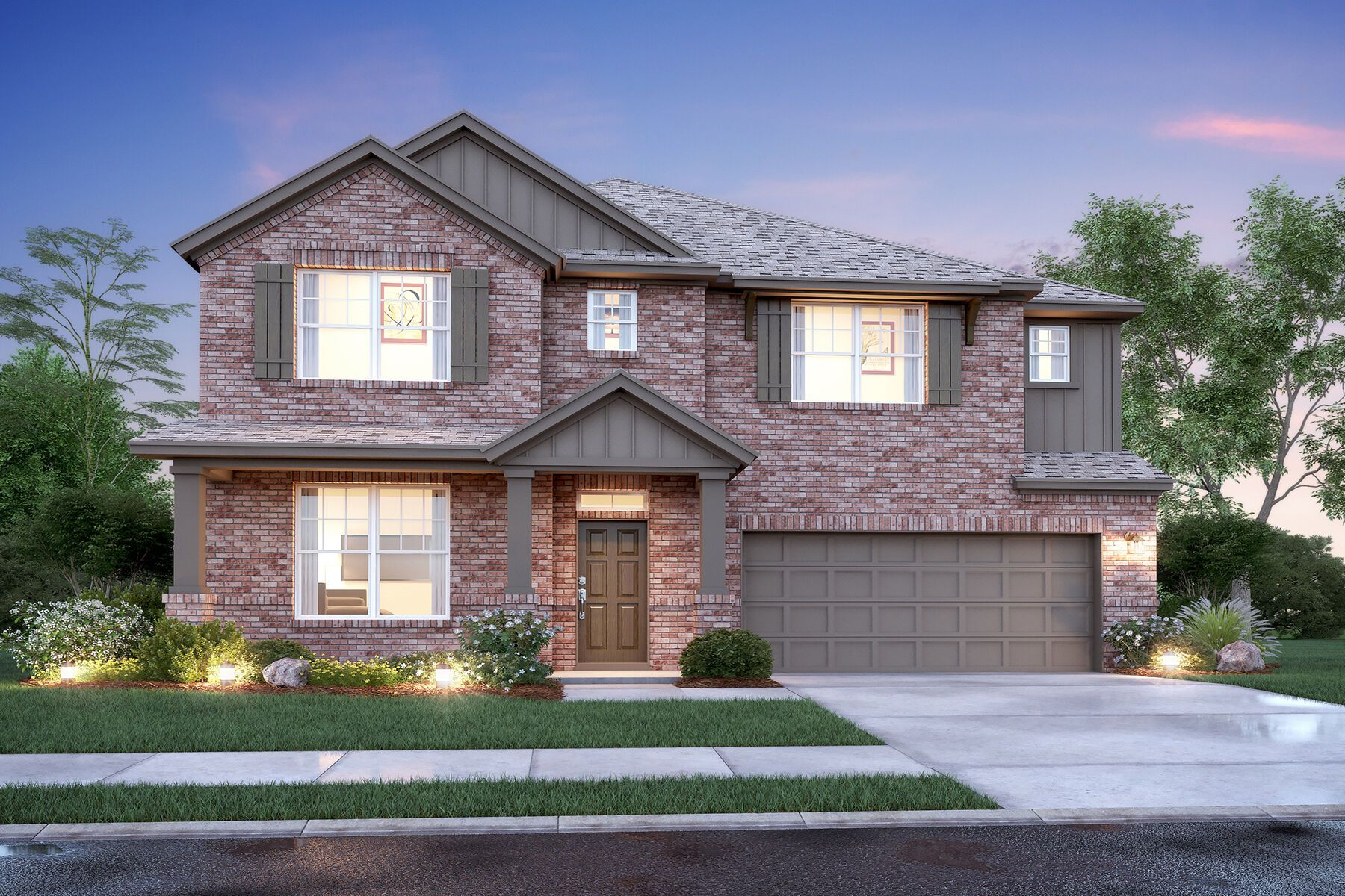 Exterior featured in the Frontier By M/I Homes in Fort Worth, TX